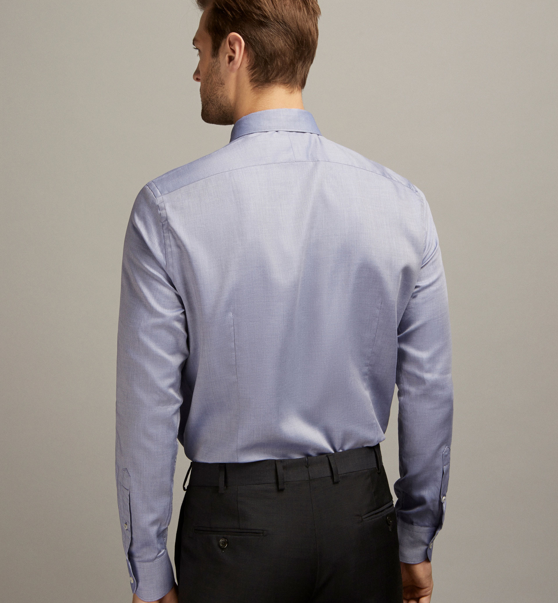 TAILORED TWILL SHIRT