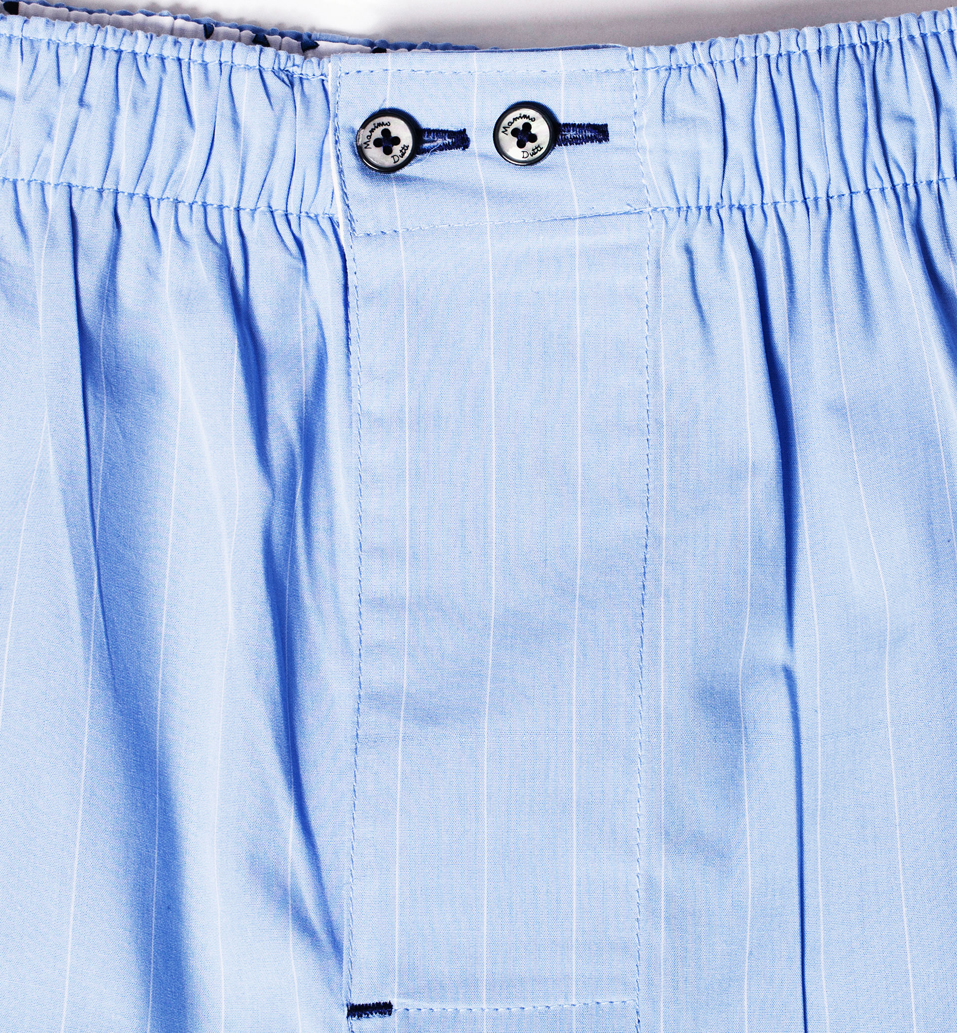 LIGHT BLUE CHECKED UNDERPANTS