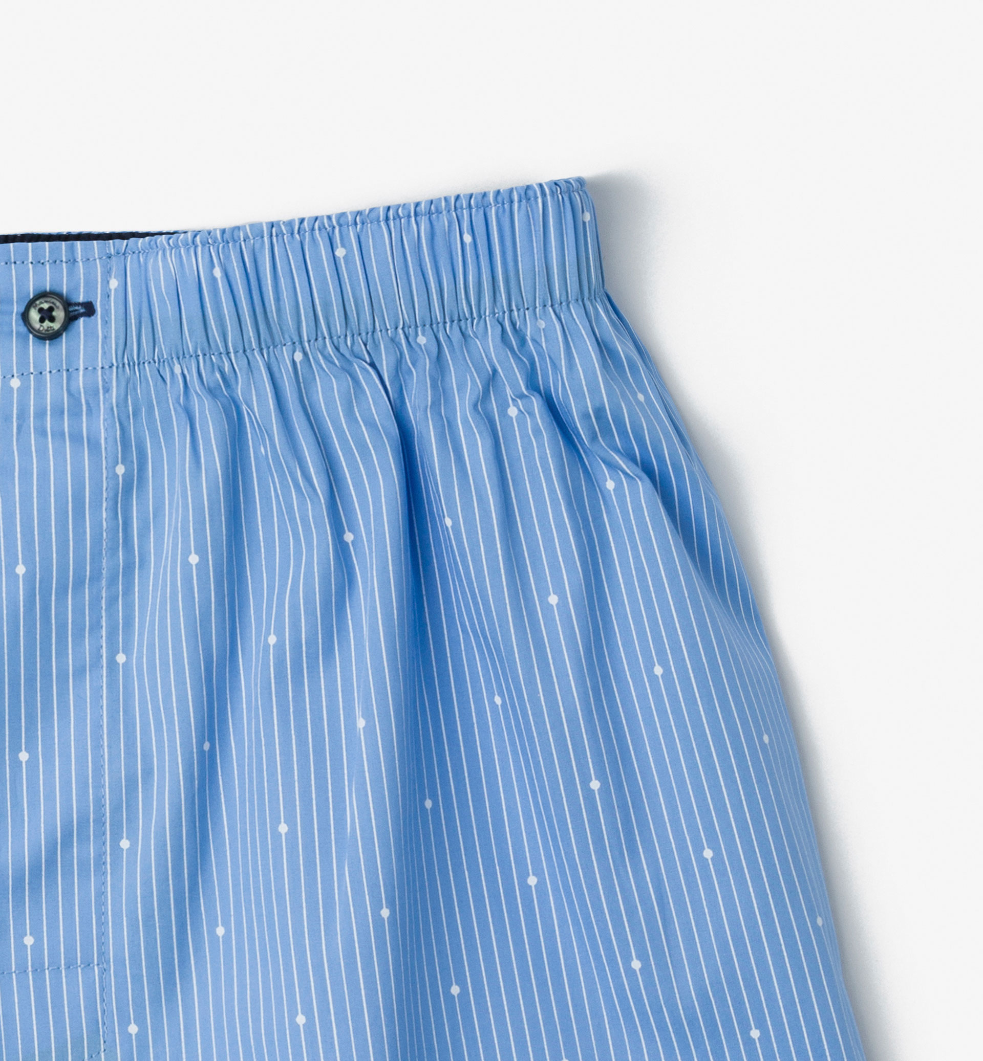 PINSTRIPE AND DOT PRINT UNDERPANTS
