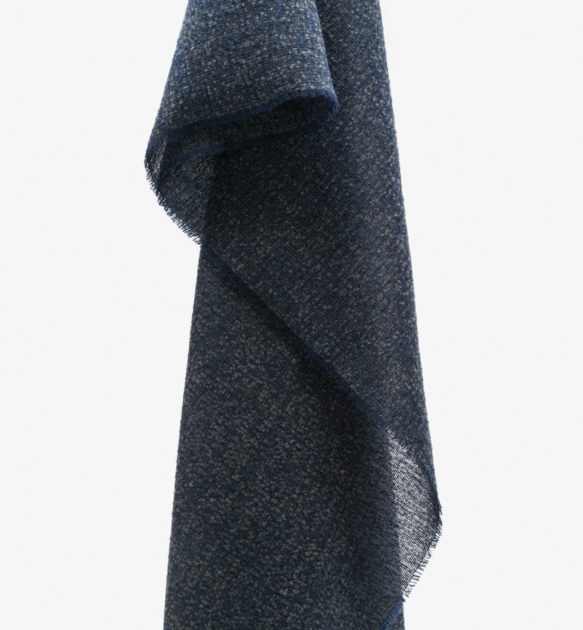 BLUE TONES WOOL SCARF