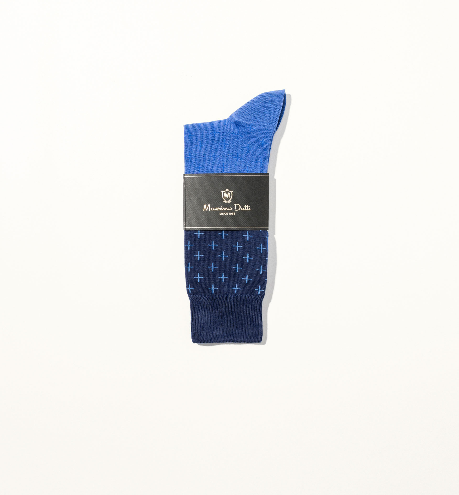 TRICOLOURED CROSS COTTON SOCKS