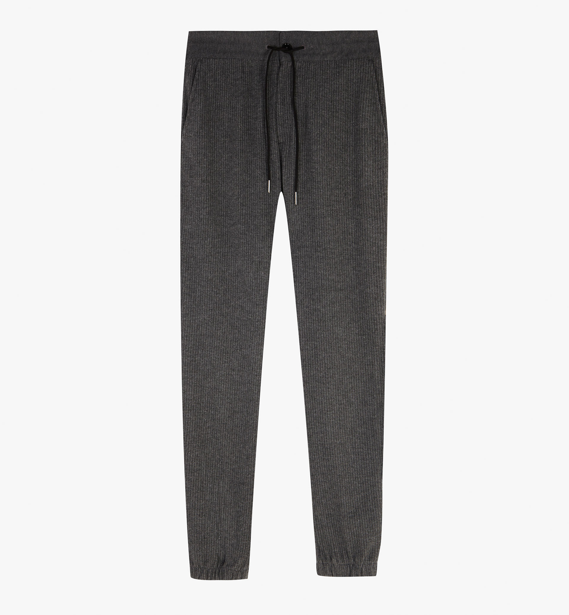 SOFT STRIPED JOGGING TROUSERS