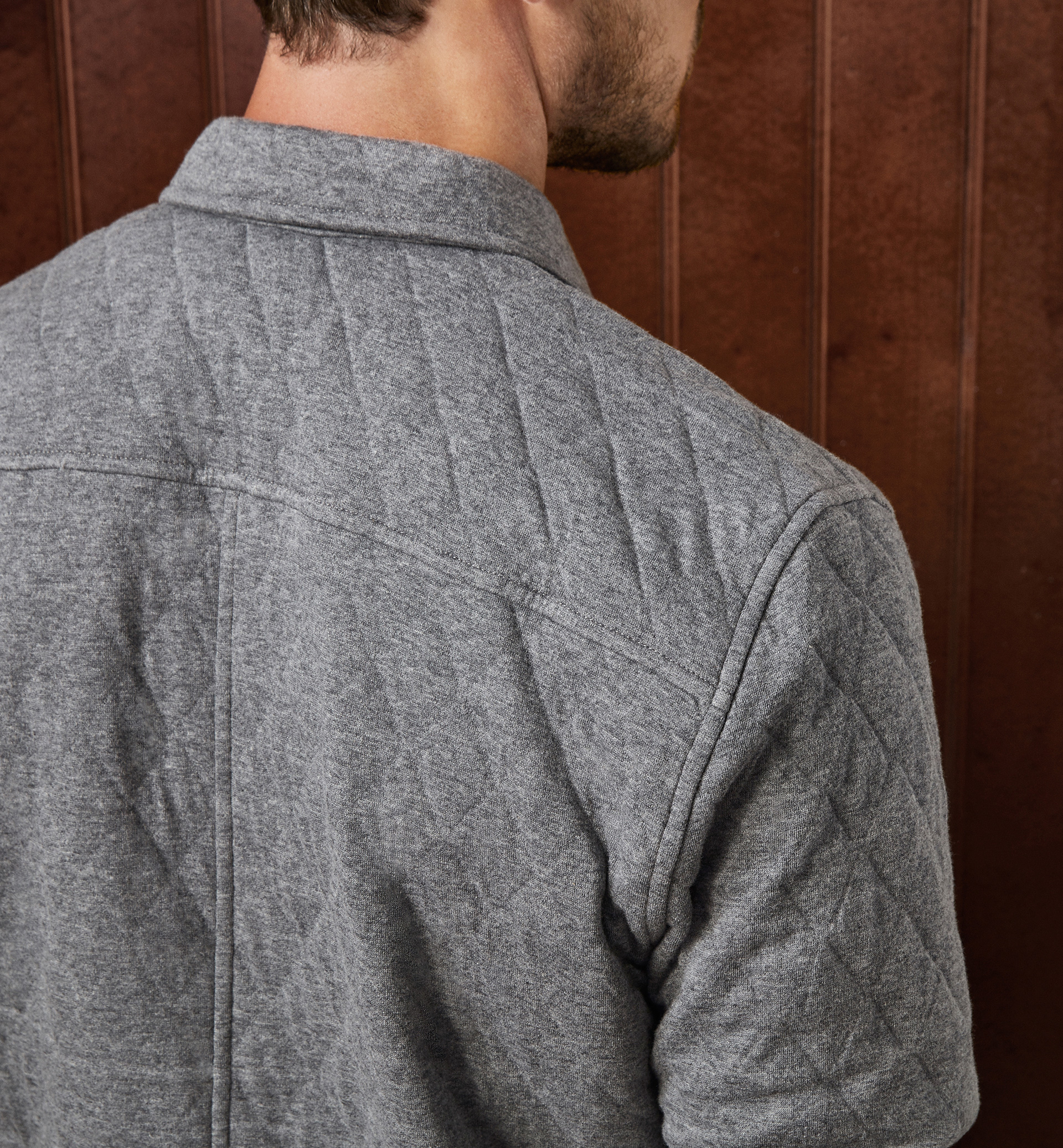 LIMITED EDITION QUILTED OVERSHIRT