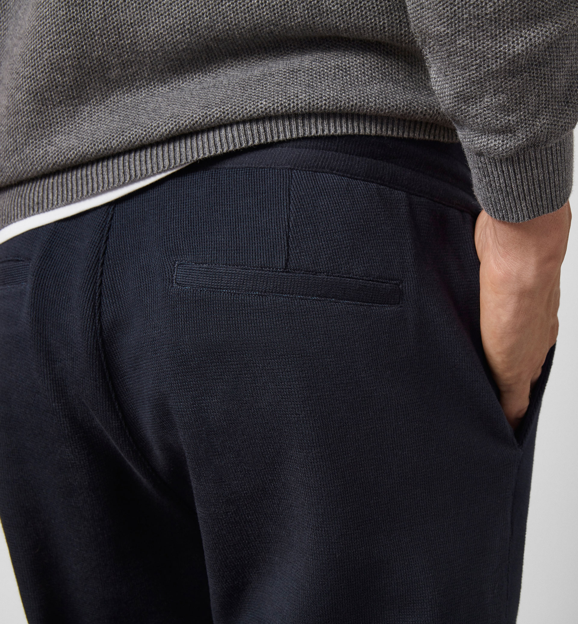 LIMITED EDITION NAVY JOGGER TROUSERS