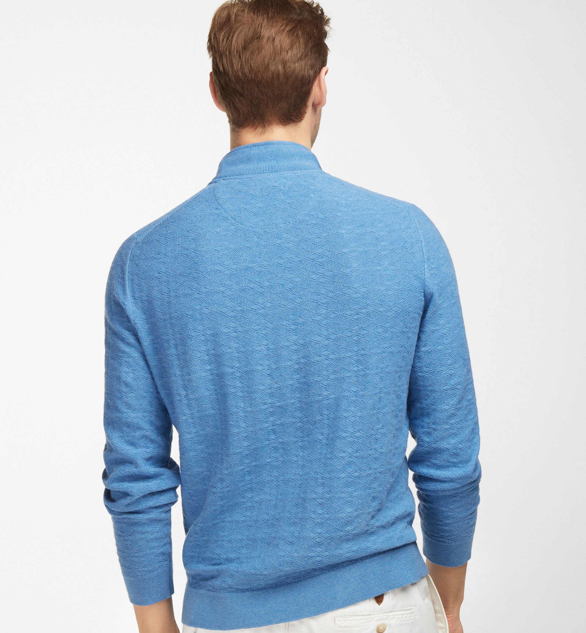 SWEATER WITH  ZIP DETAIL