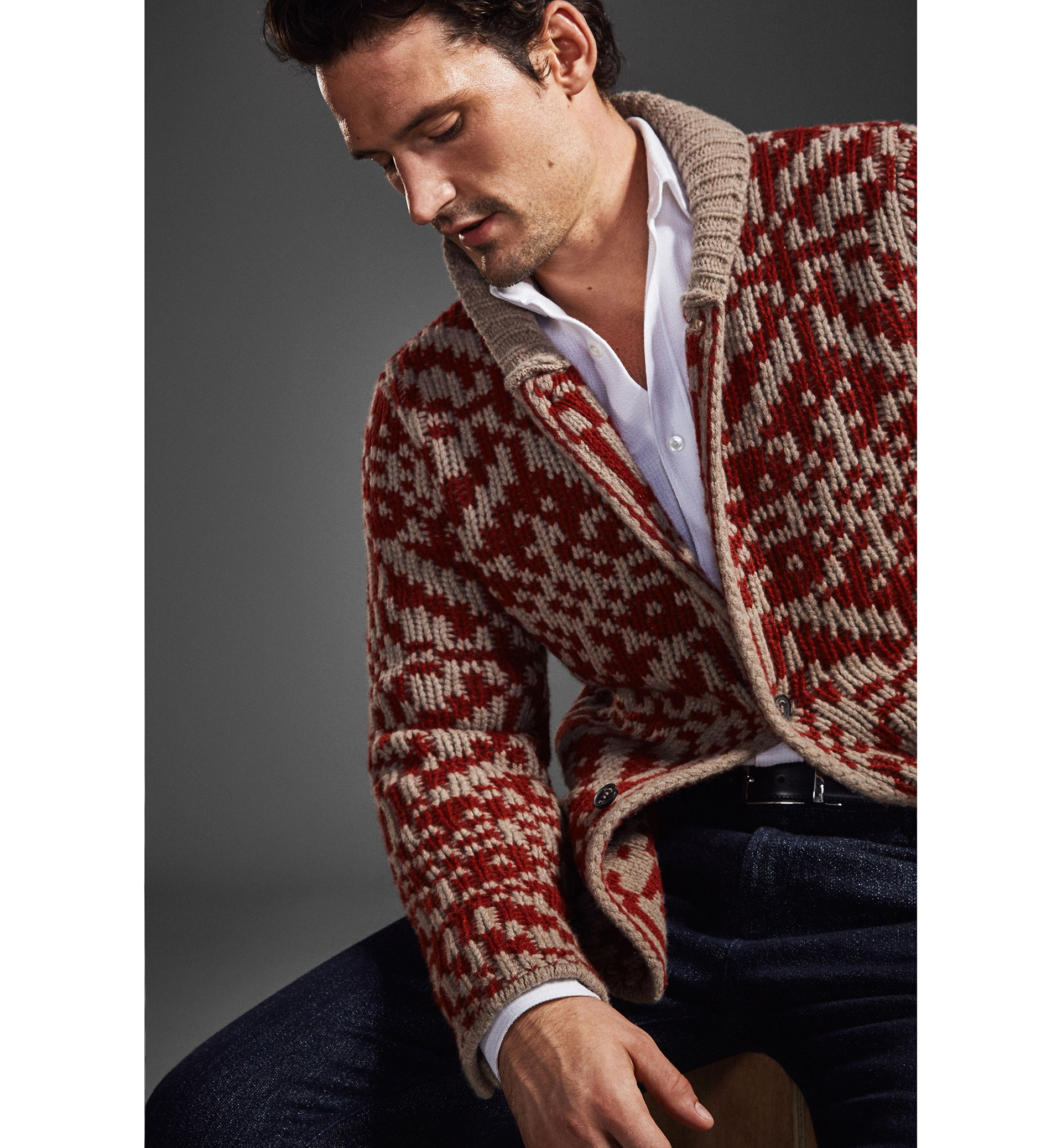 LIMITED EDITION JACQUARD CARDIGAN