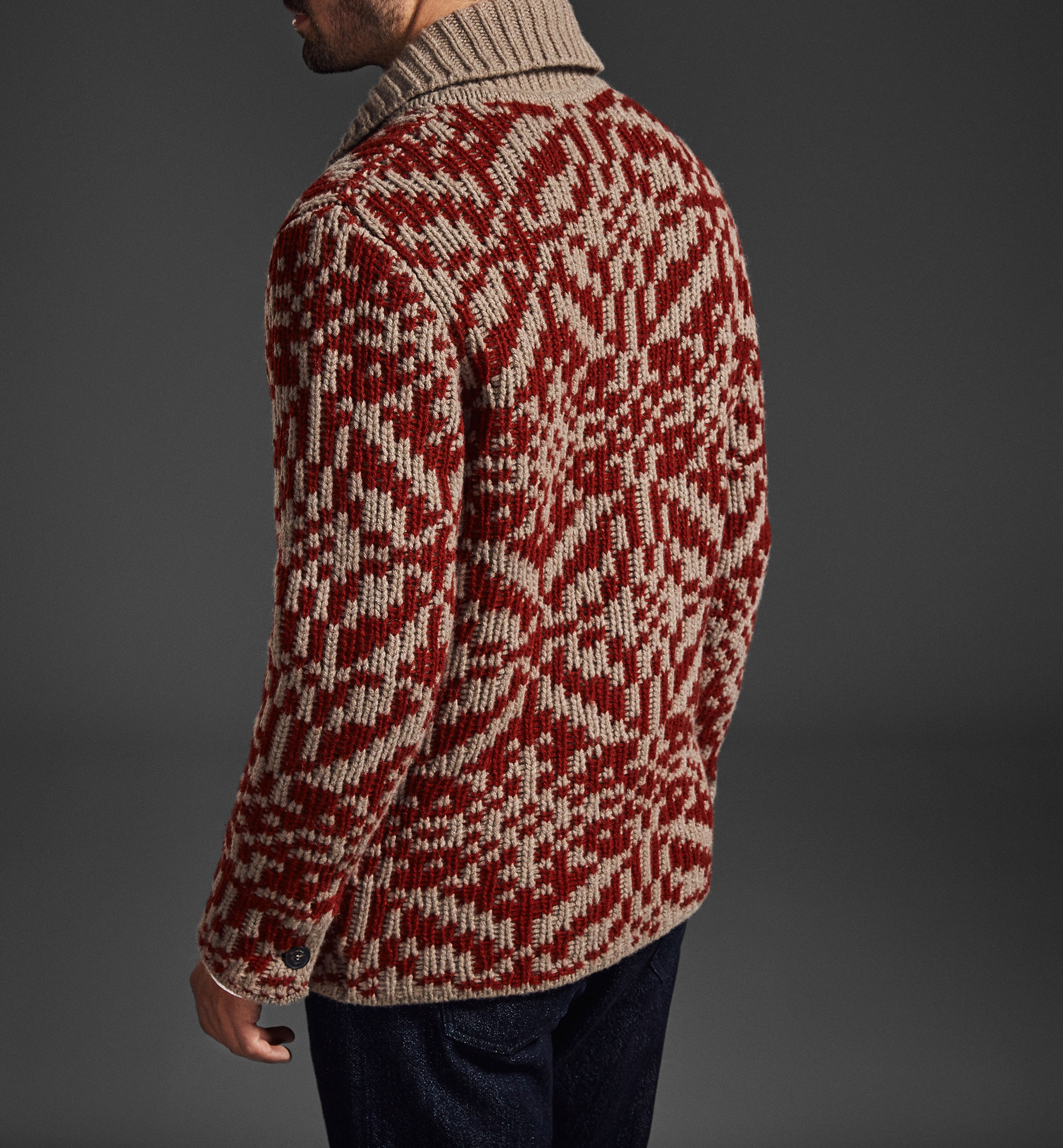 CARDIGAN JACQUARD LIMITED EDITION