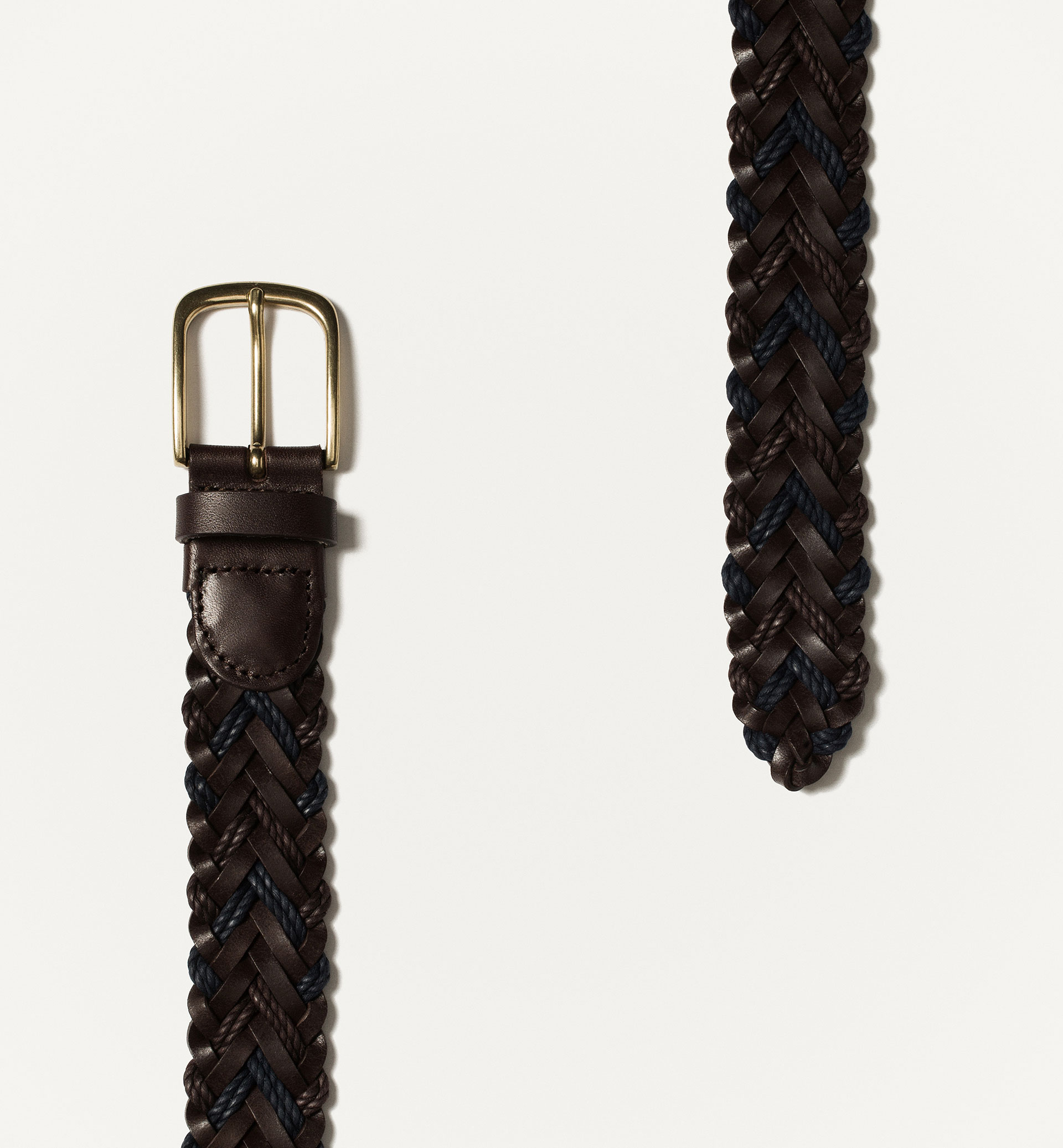 COMBINED BRAIDED BELT