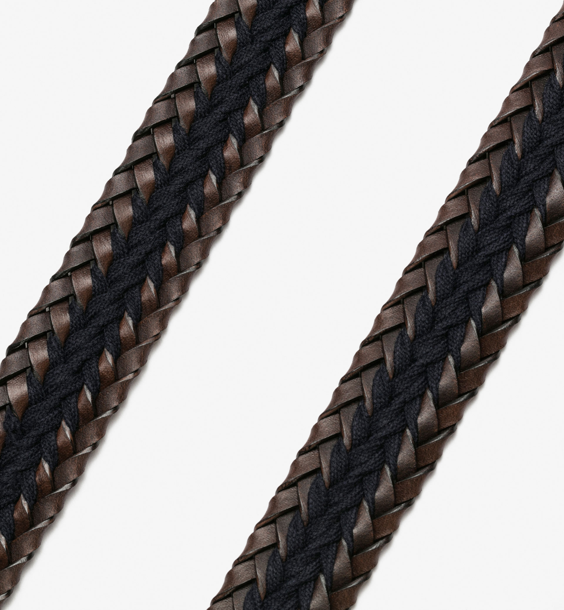 BRAIDED BELT WITH CENTRAL CORD