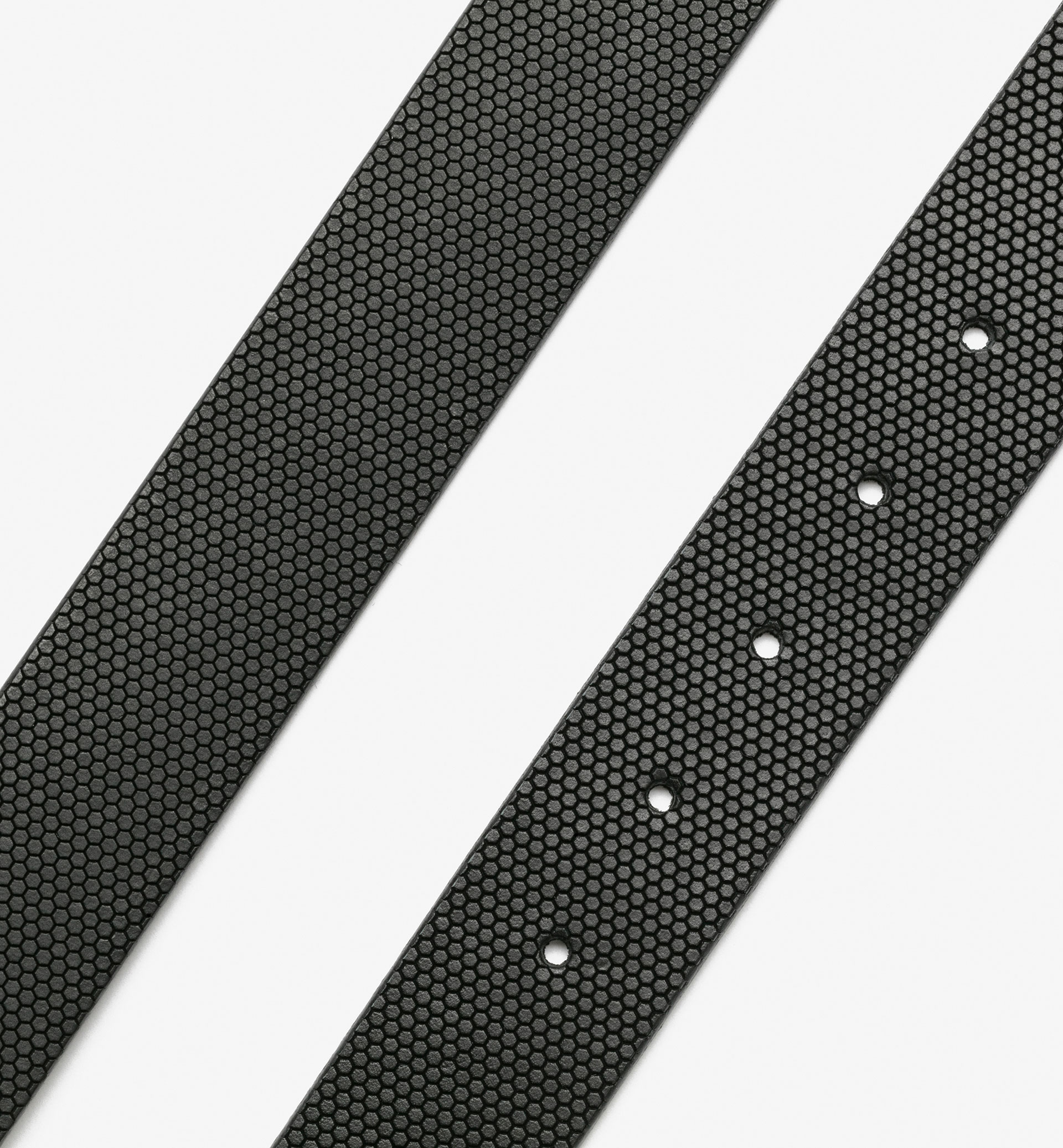 BLACK TEXTURISED BELT