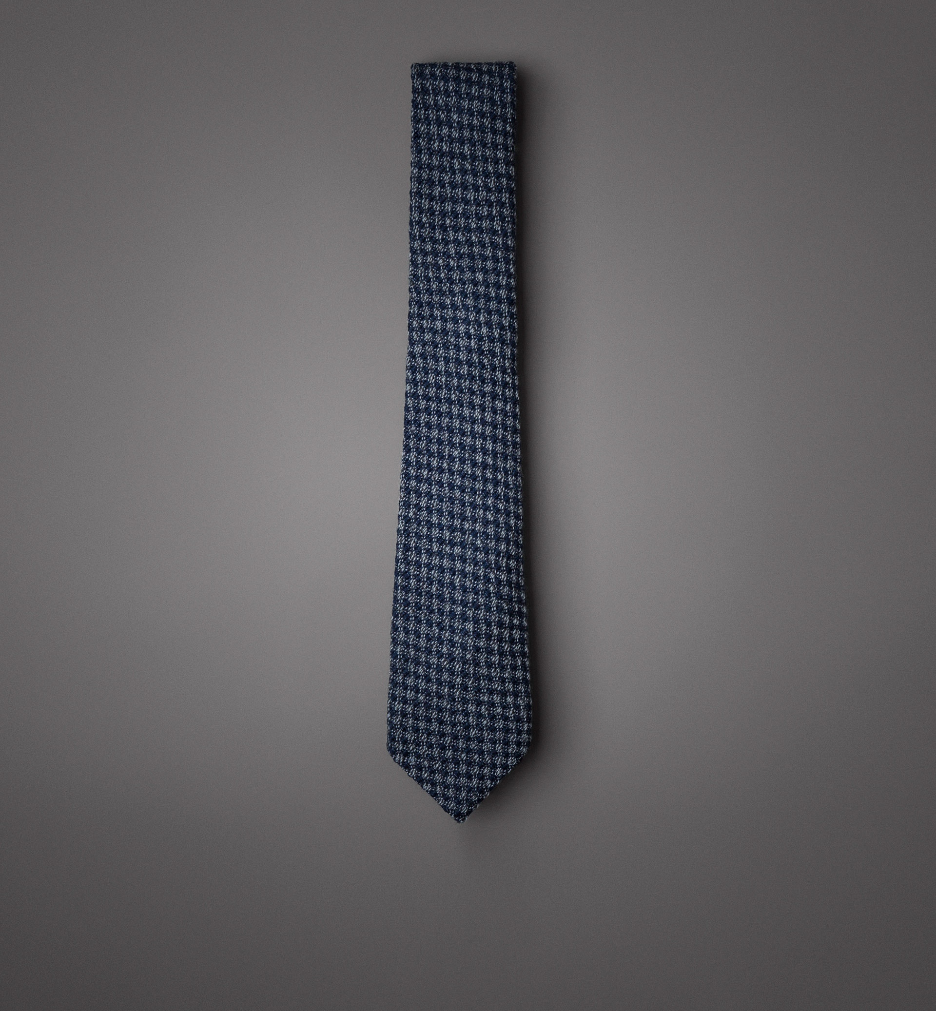LIMITED EDITION BLURRED TAUPE WOOL TIE