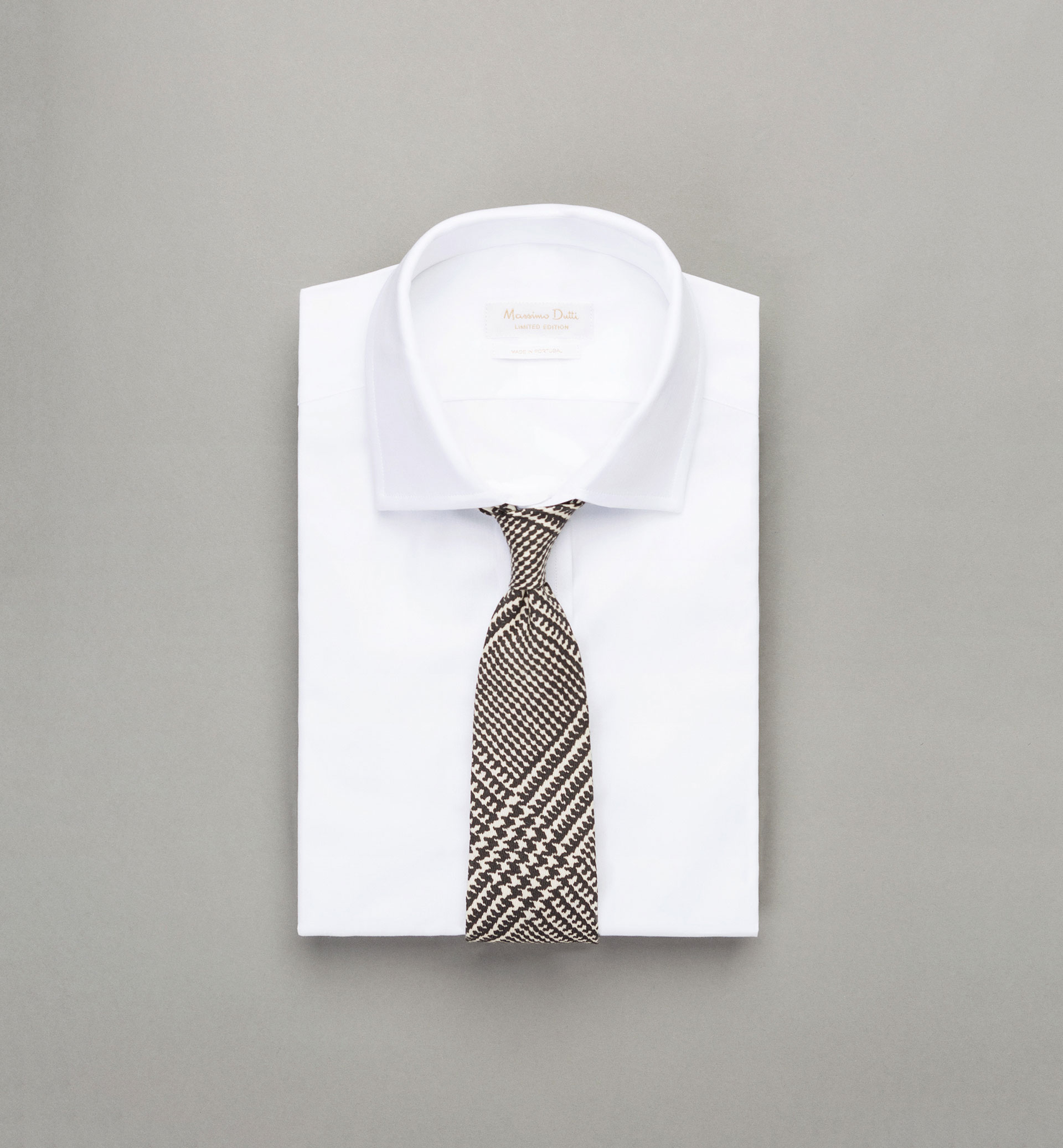 PERSONAL TAILORING HOUNDSTOOTH TIE