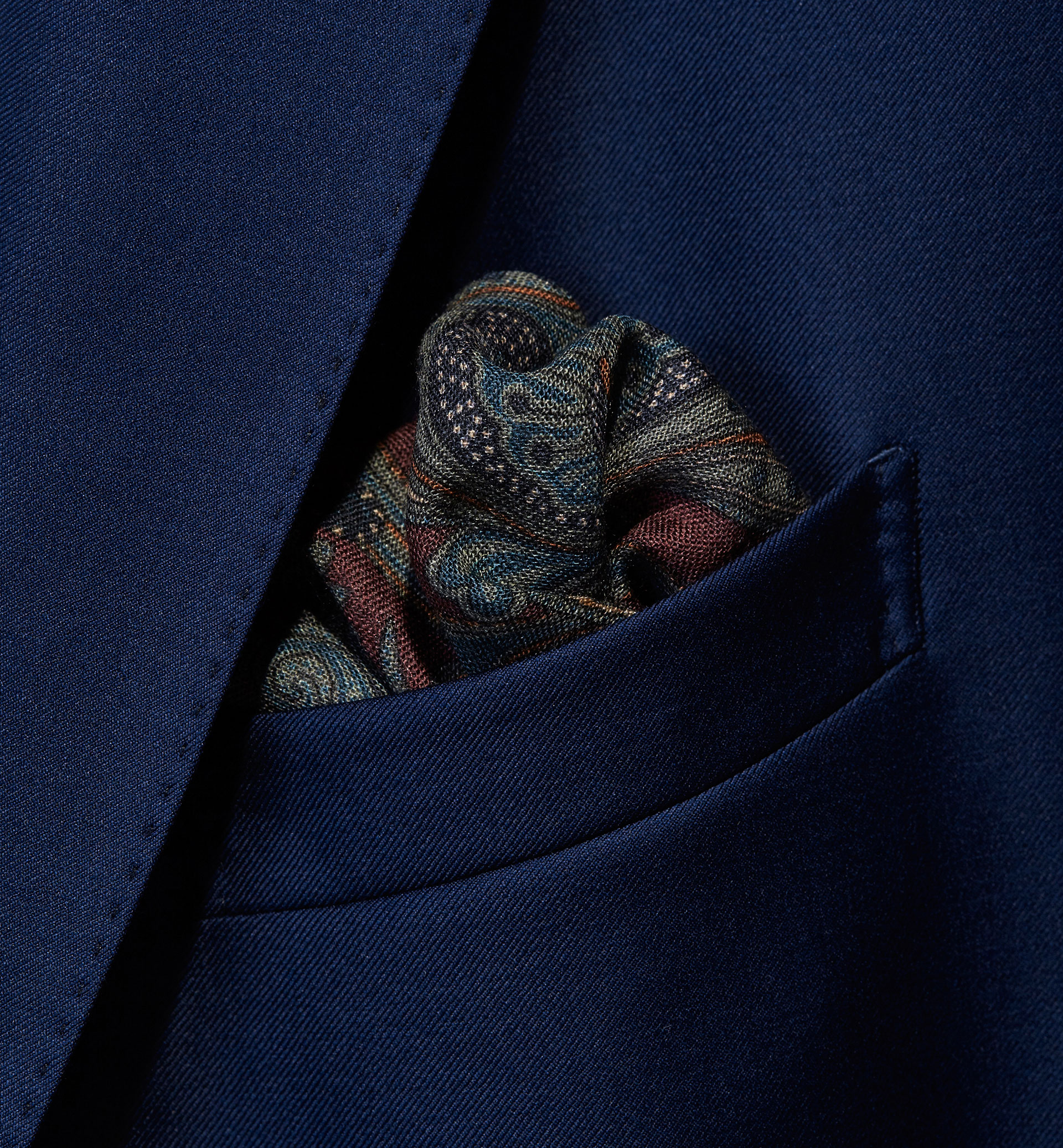 PERSONAL TAILORING PRINTED POCKET SQUARE