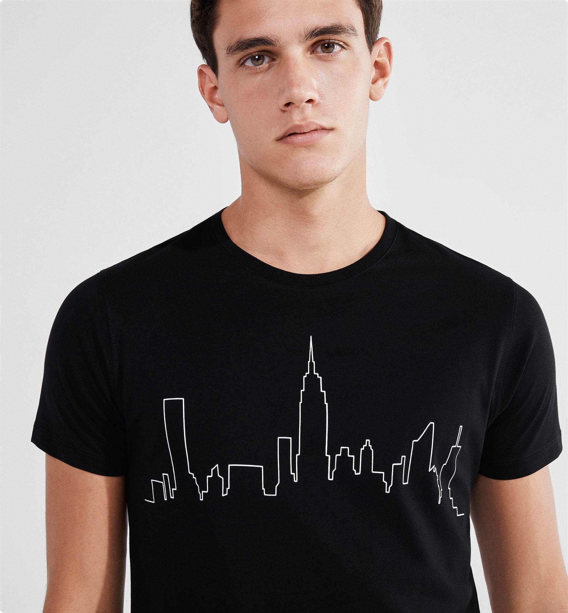 NEW YORK SKYLINE SOFT T-SHIRT