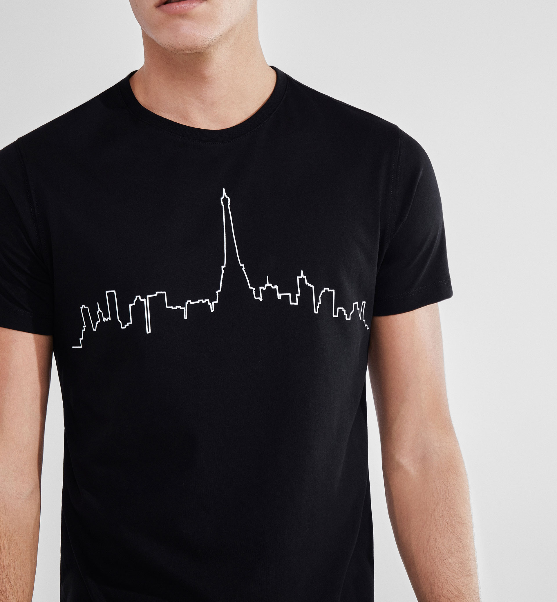 PARIS SKYLINE SOFT T-SHIRT