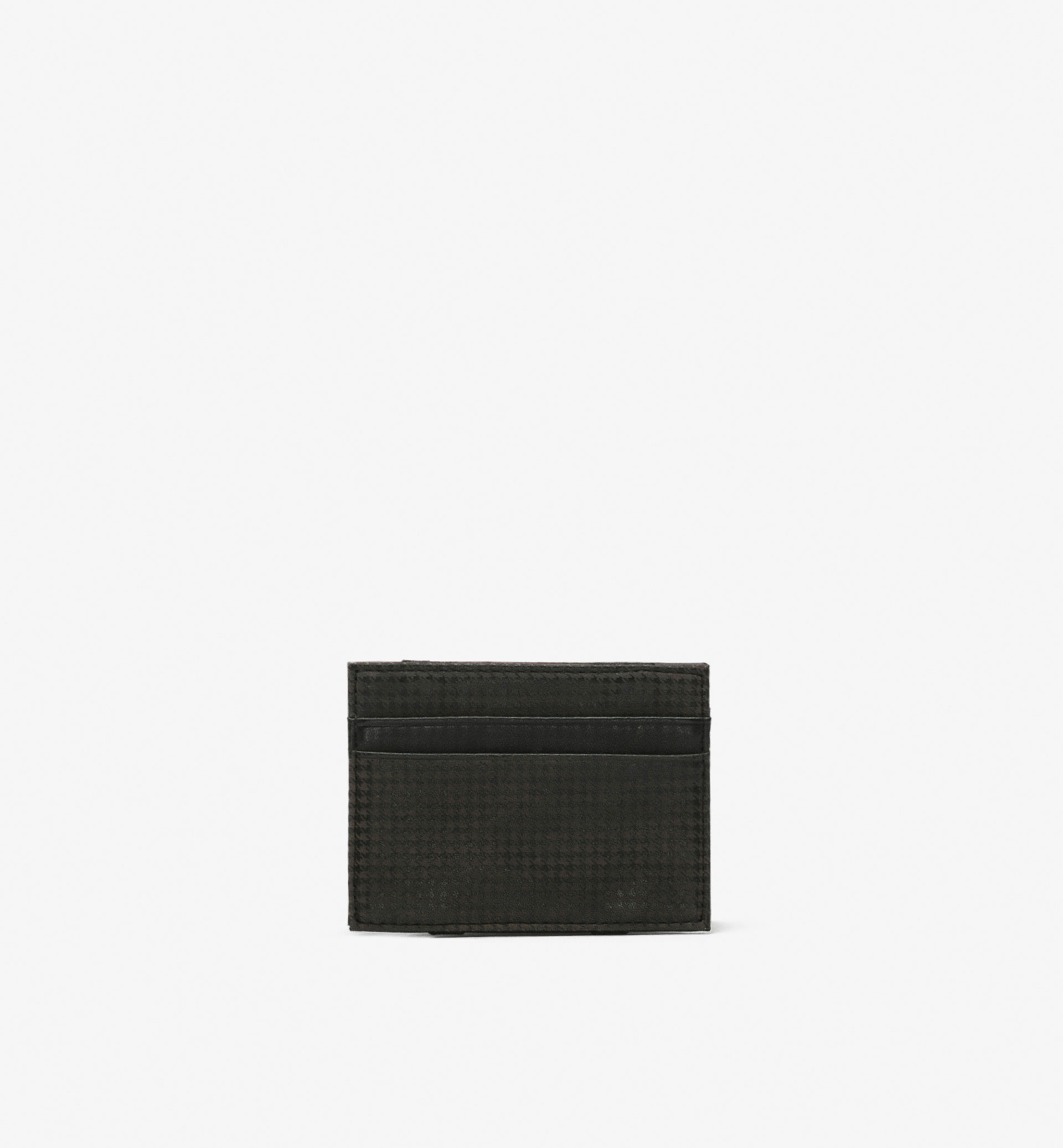MAGIC WALLET HOUNDSTOOTH CARD HOLDER