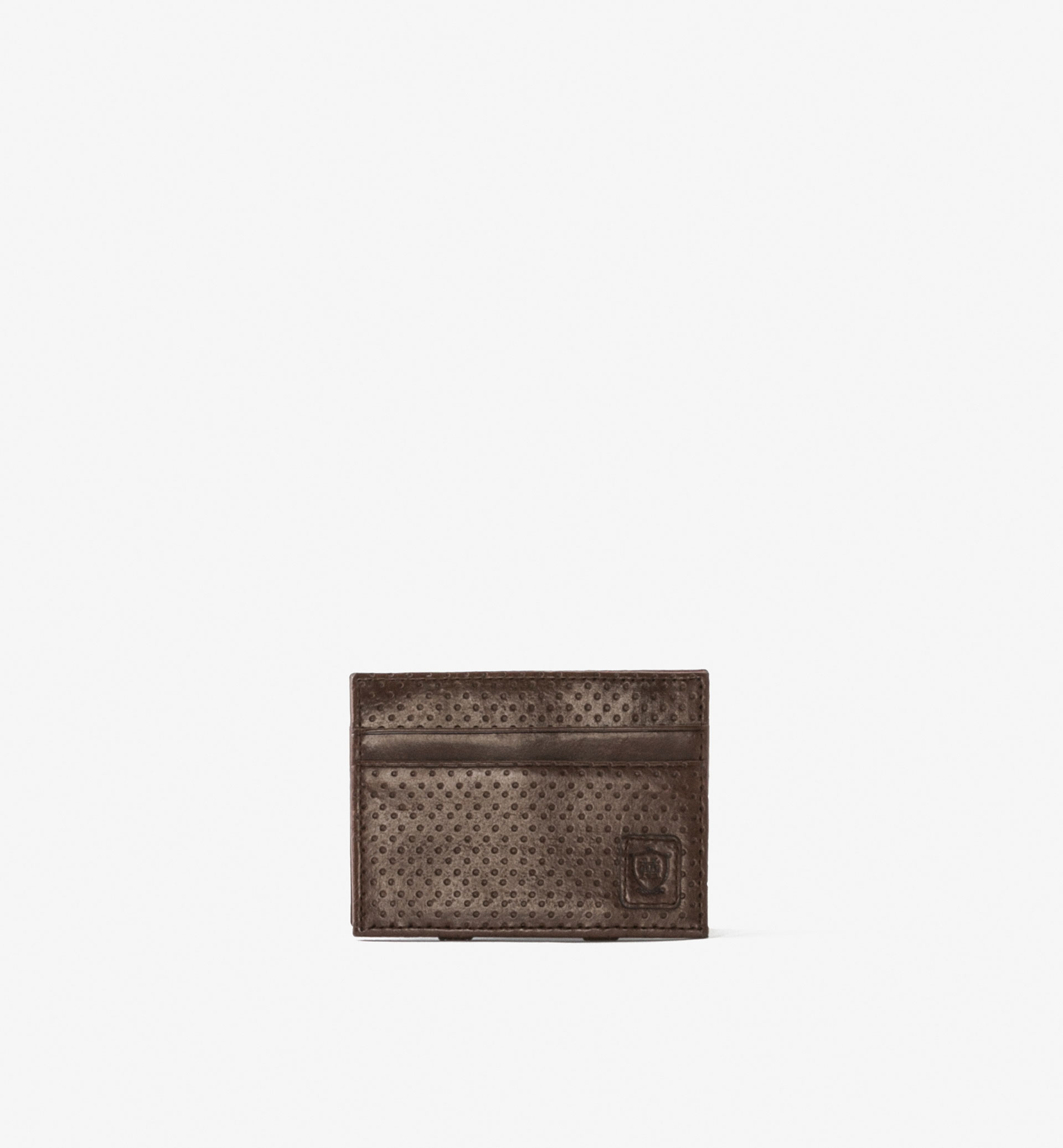 LIMITED EDITION PERFORATED LEATHER MAGIC WALLET