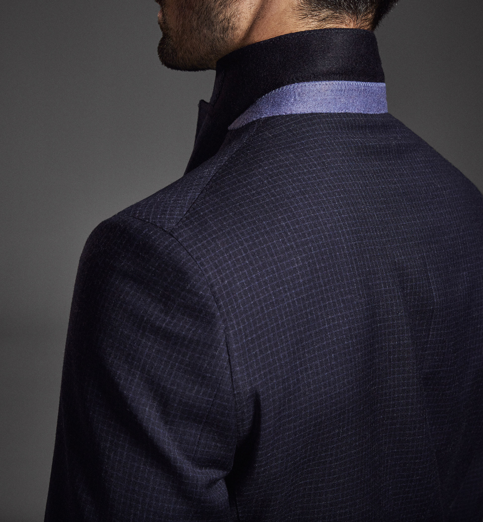 LIMITED EDITION WOOL CHECK BLAZER
