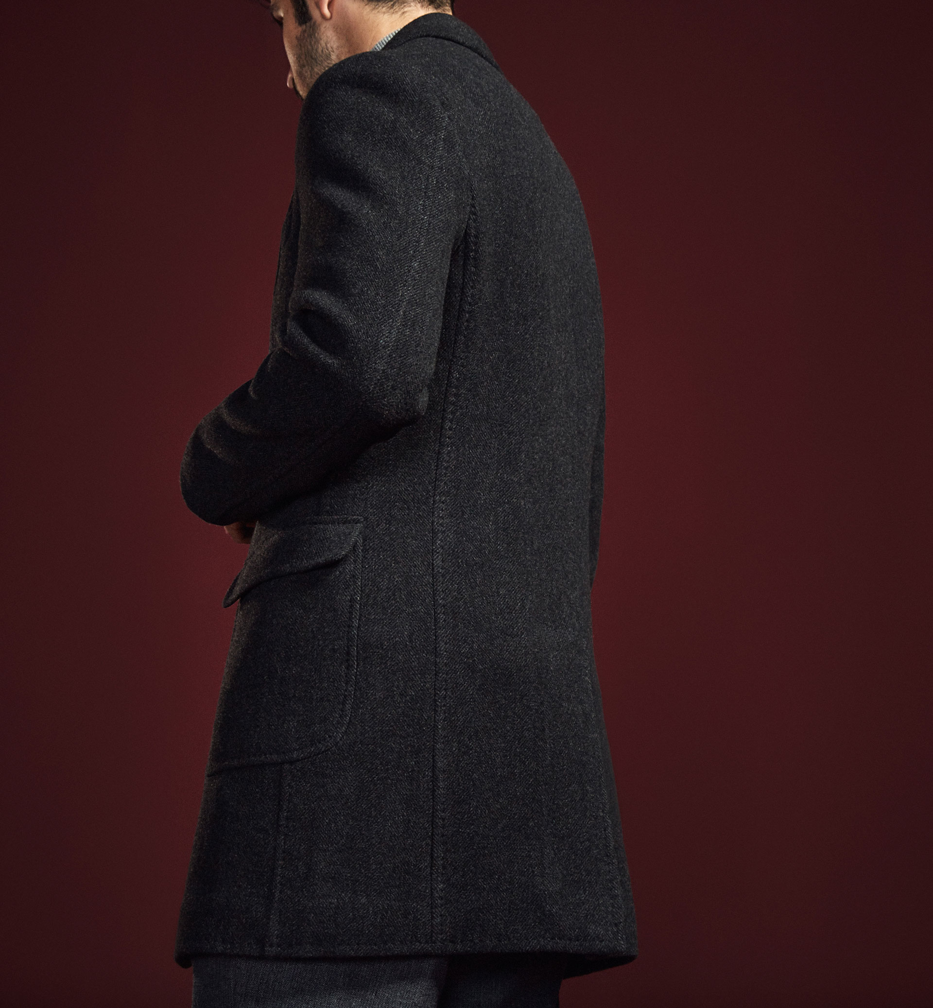 LIMITED EDITION CASHMERE/WOOL COAT