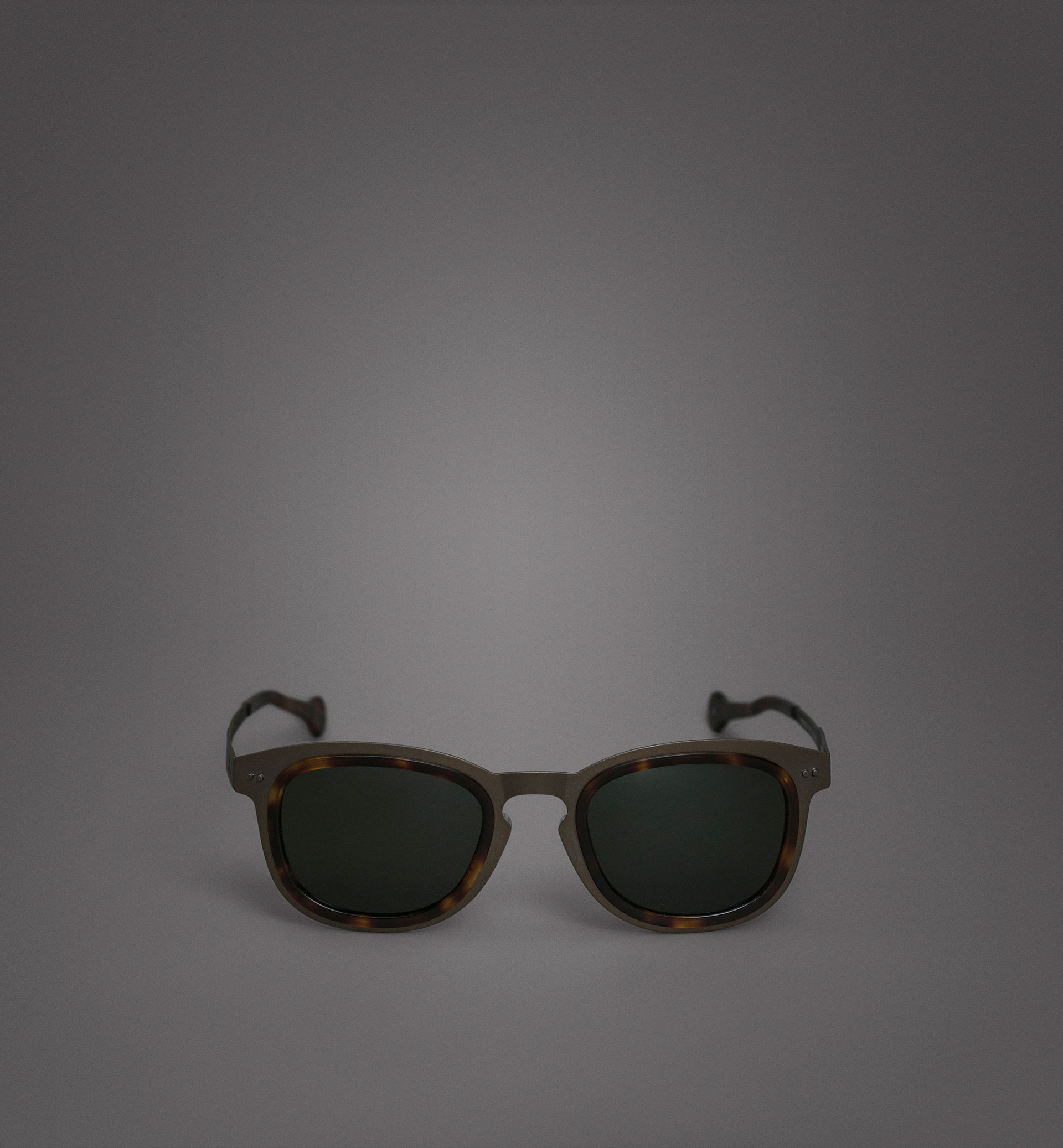 LIMITED EDITION TITANIUM AND TORTOISESHELL GLASSES