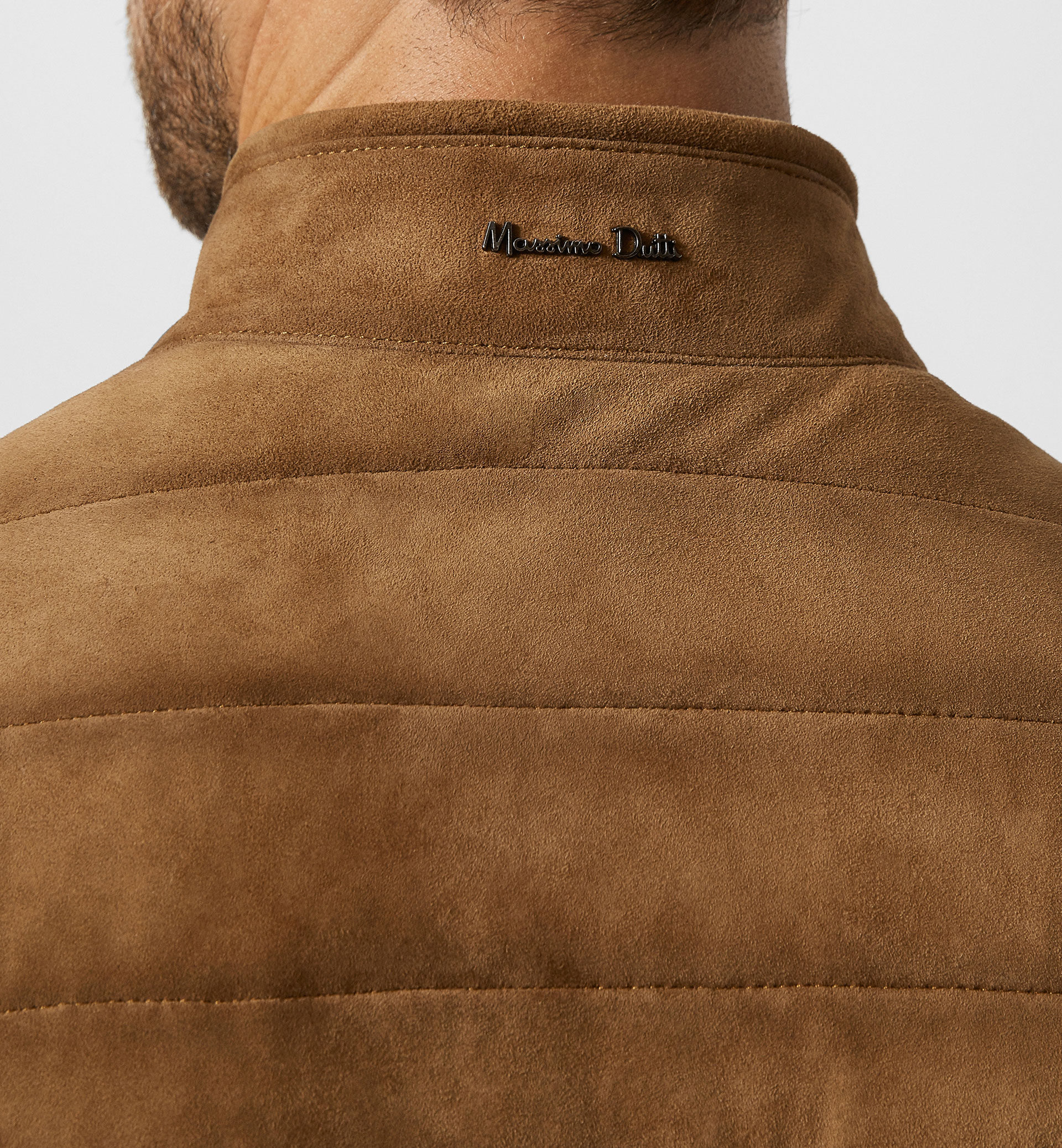 LIMITED EDITION QUILTED SUEDE JACKET