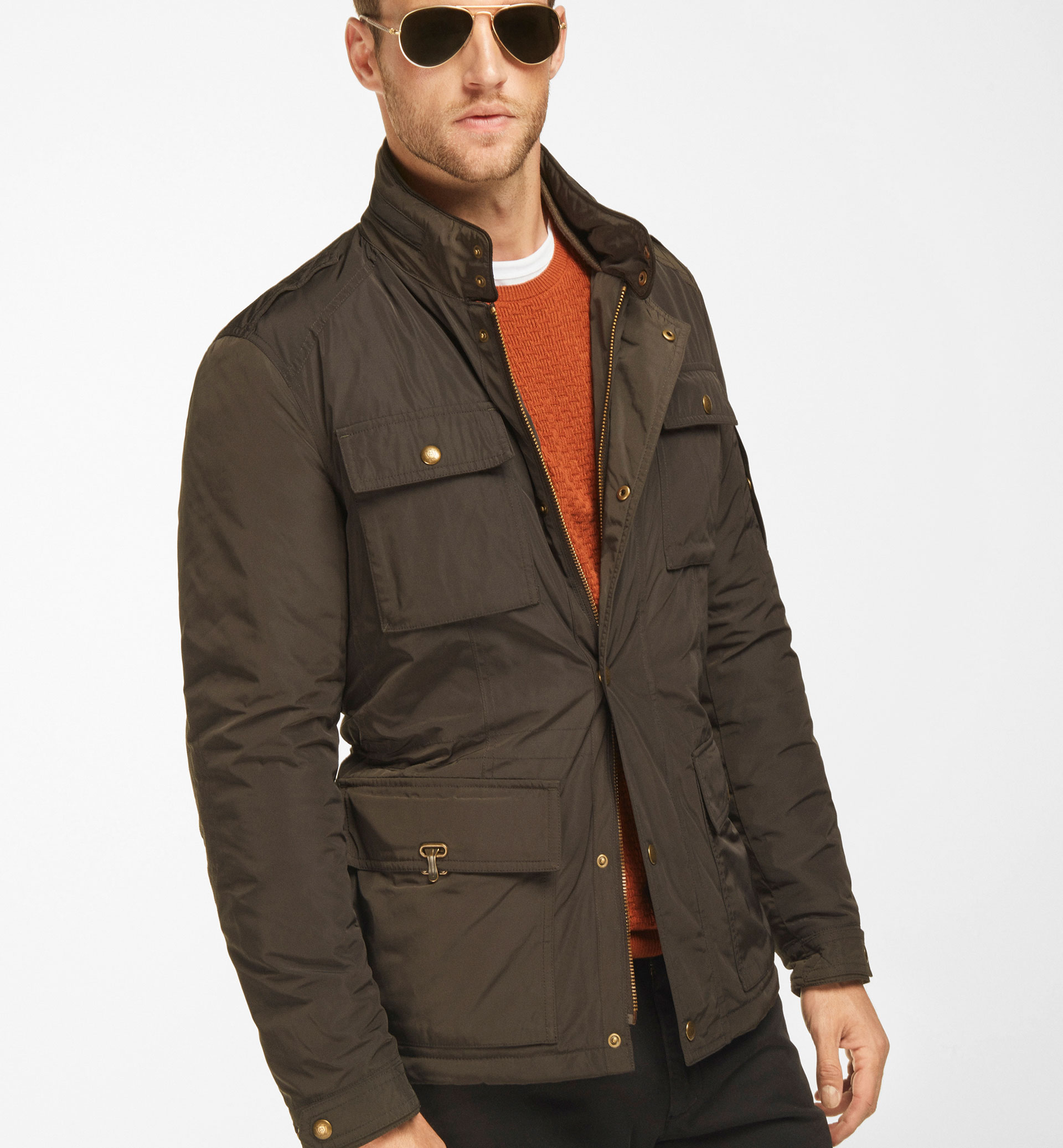 PARKA TECHNIQUE MARRON