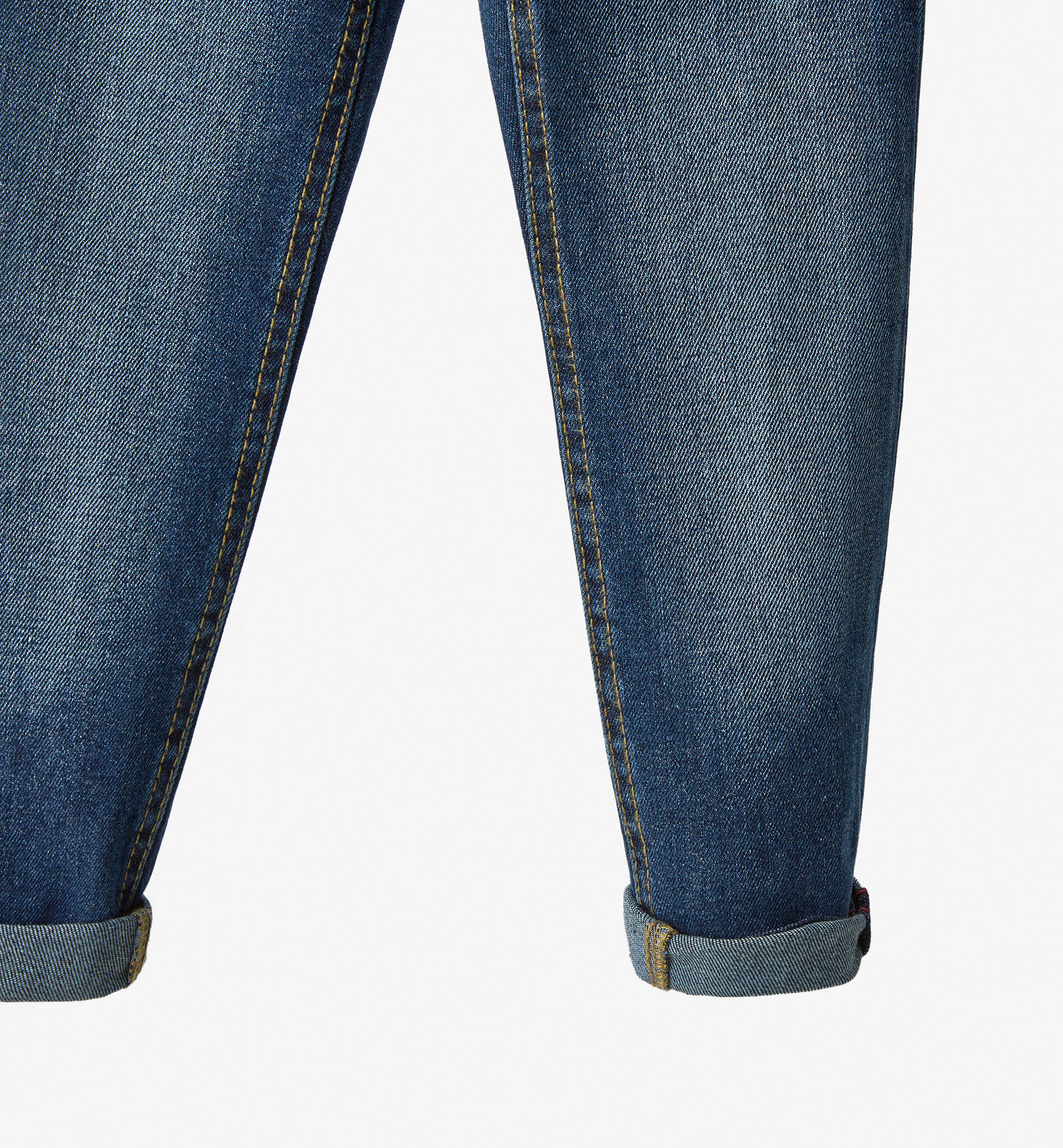 JEANS WITH RIBBON DETAIL