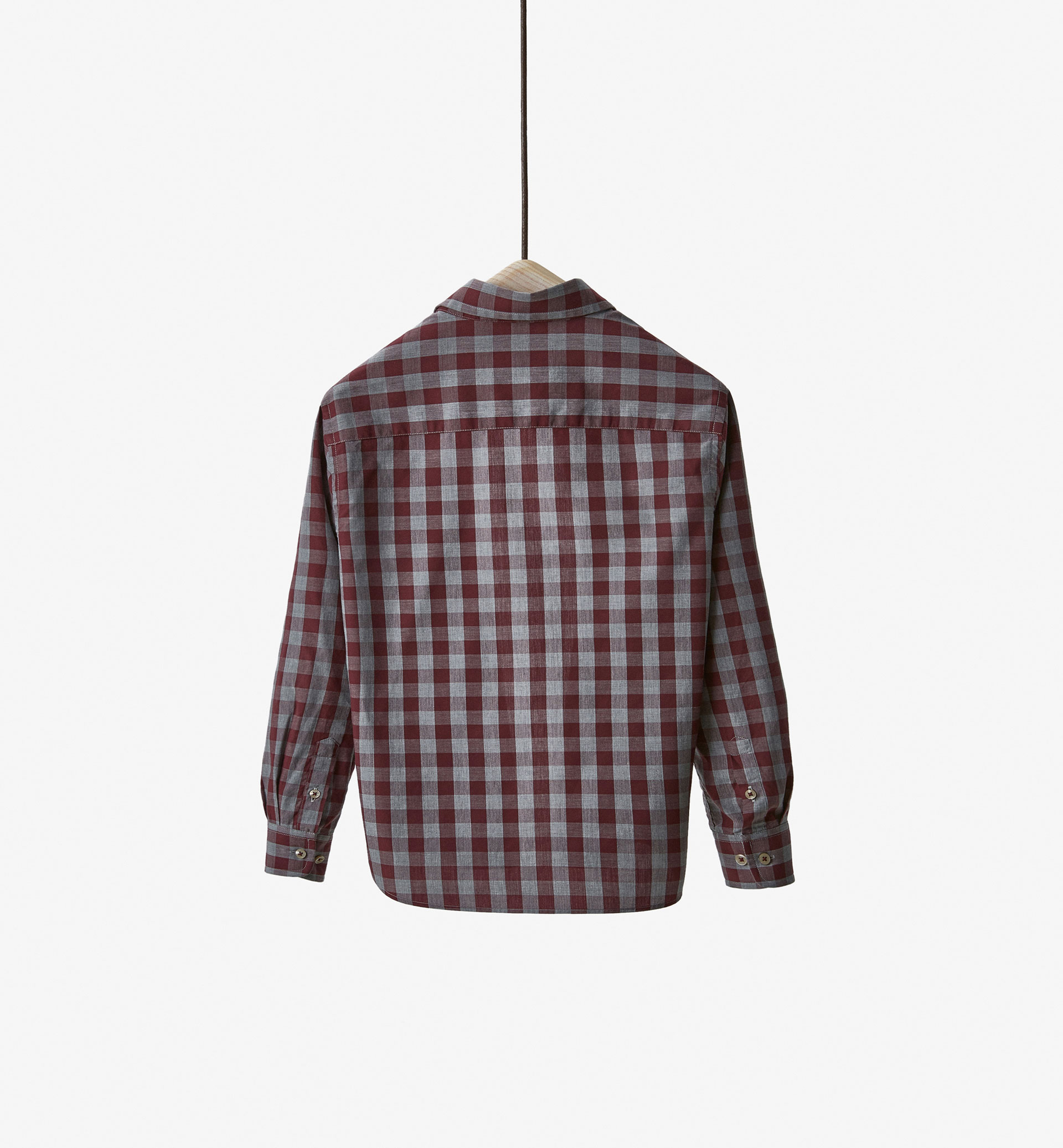 LIMITED EDITION GINGHAM CHECK SHIRT