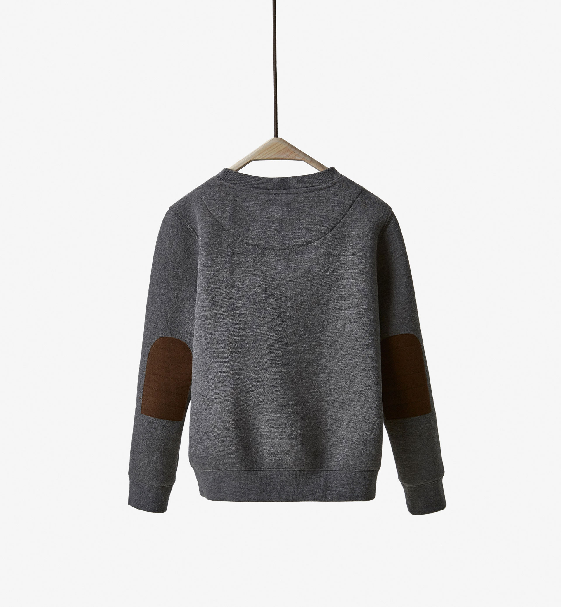 LIMITED EDITION SWEATSHIRT WITH ELBOW PATCHES