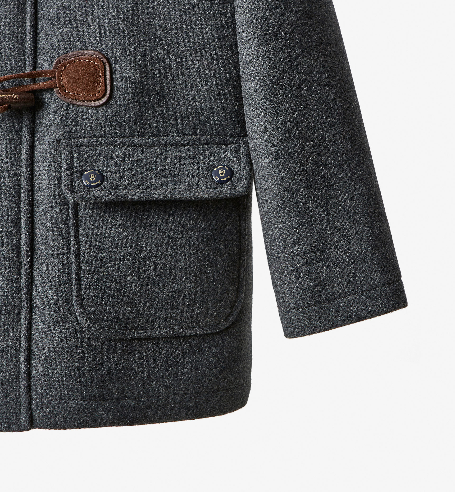 CLOTH TRENCH COAT WITH HOOD DETAIL