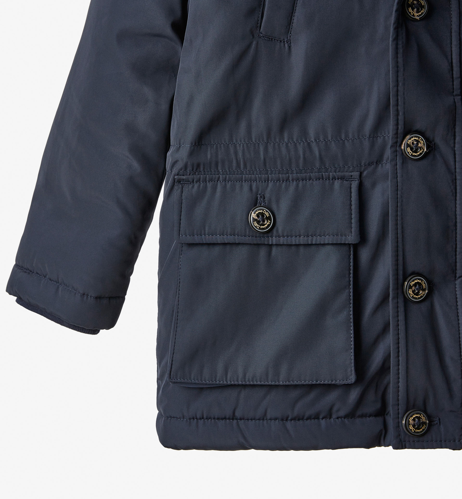 PARKA WITH HOOD DETAIL