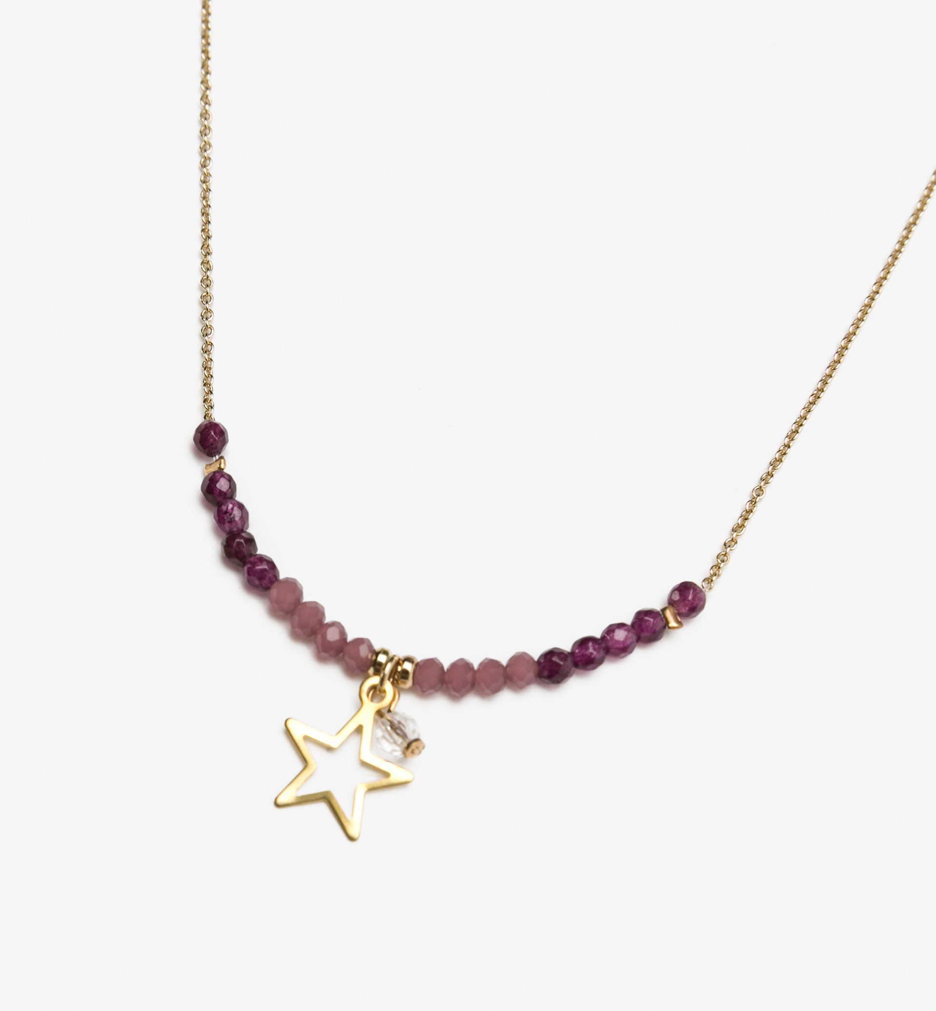STAR DETAIL NECKLACE