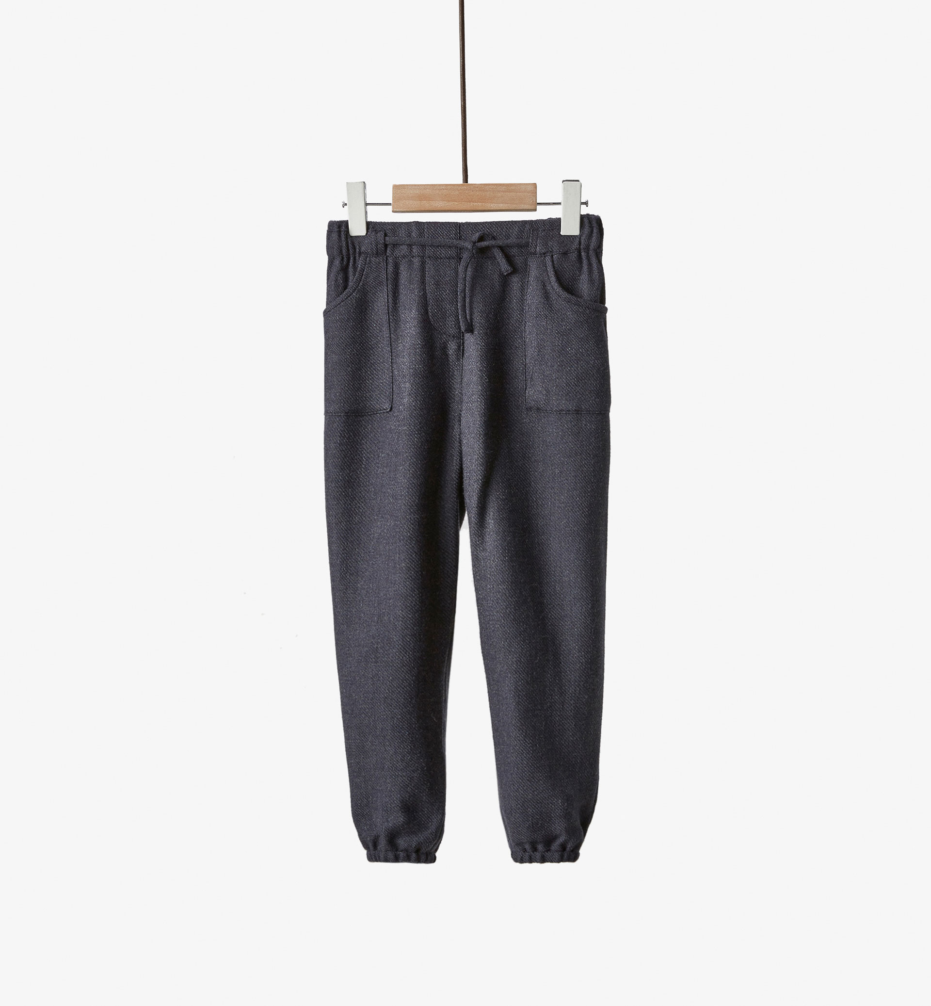 JOGGING STYLE FLOWING TROUSERS