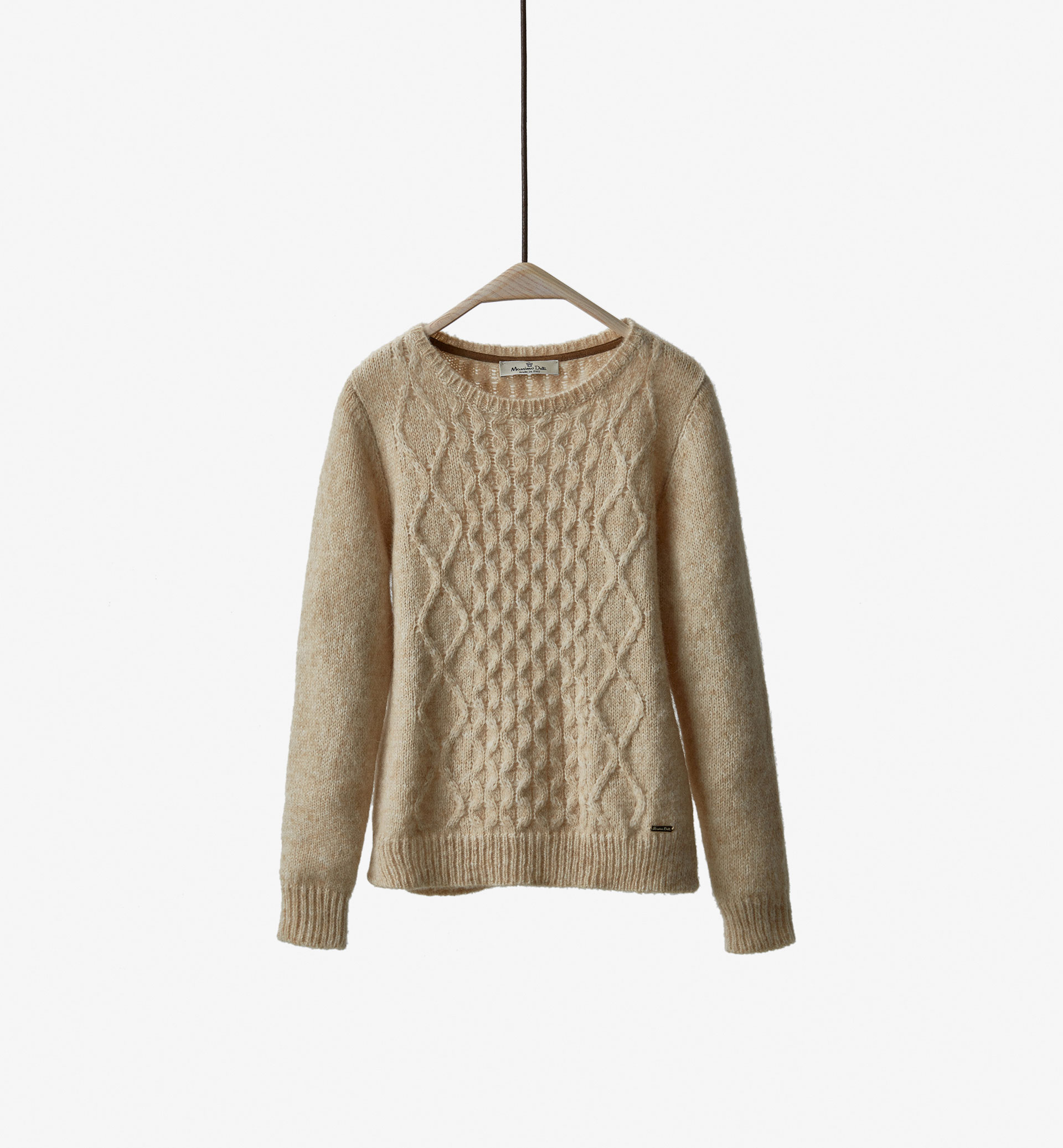LIMITED EDITION CABLE KNIT DETAIL SWEATER