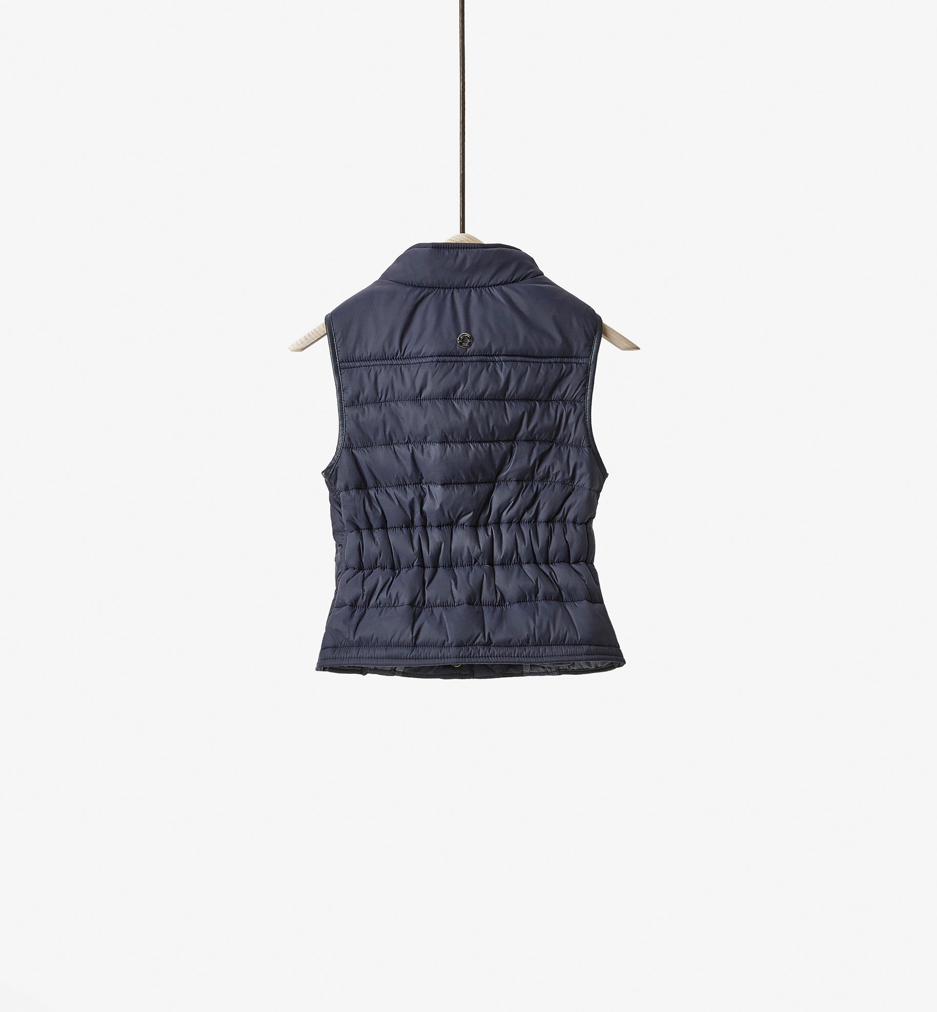 BASIC QUILTED GILET