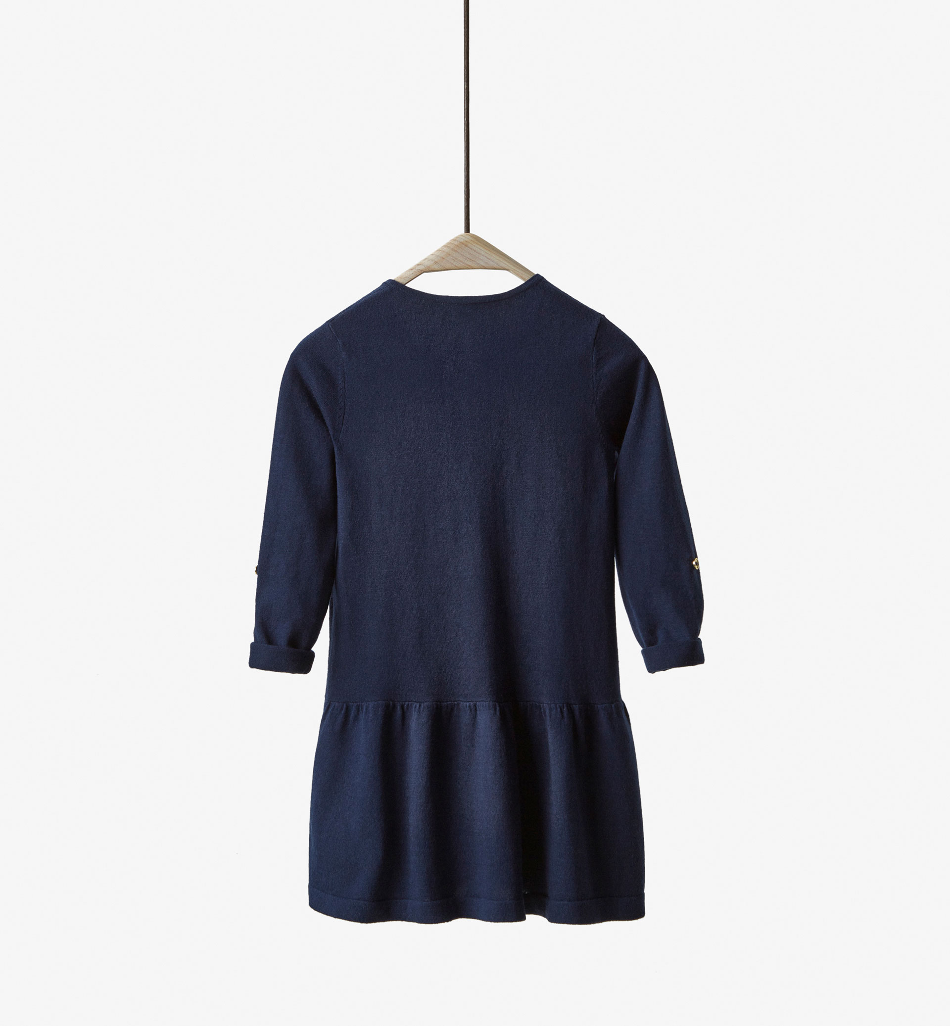 NAVY TRICOT DRESS