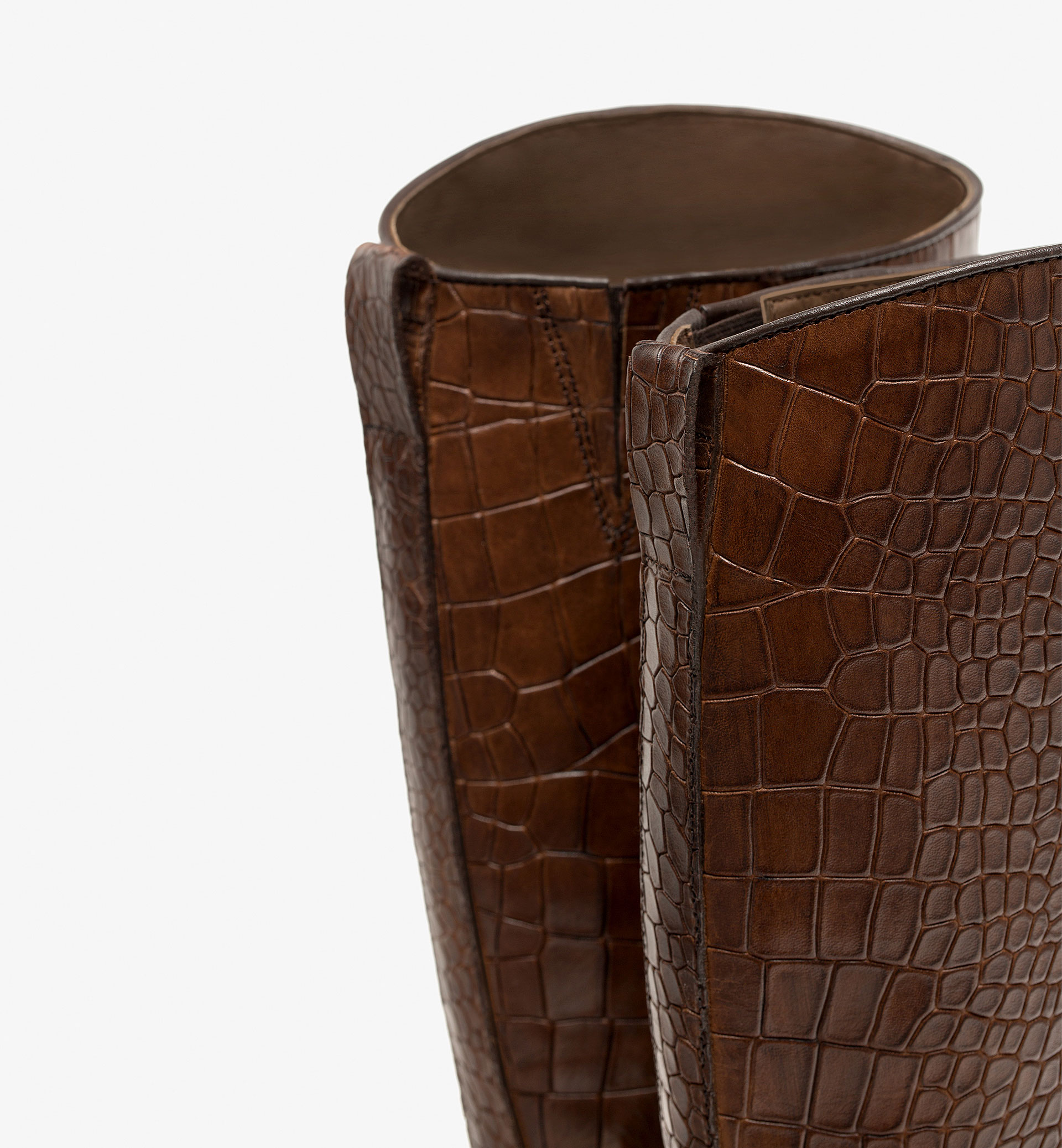 EMBOSSED BOOTS