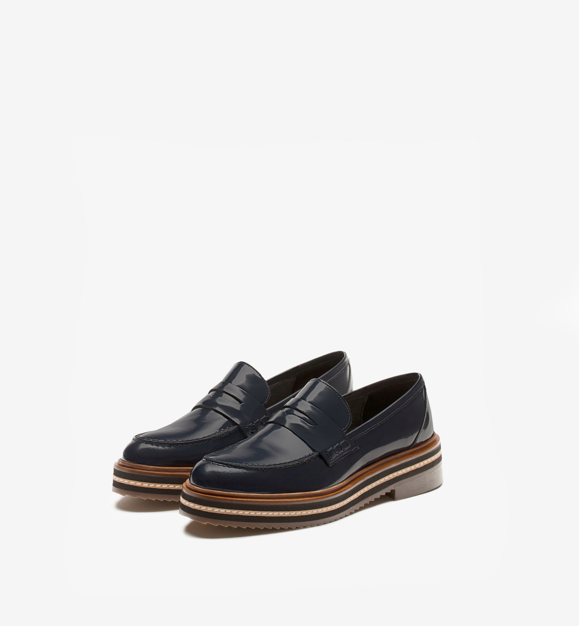 ANTIK LEATHER PLATFORM LOAFERS