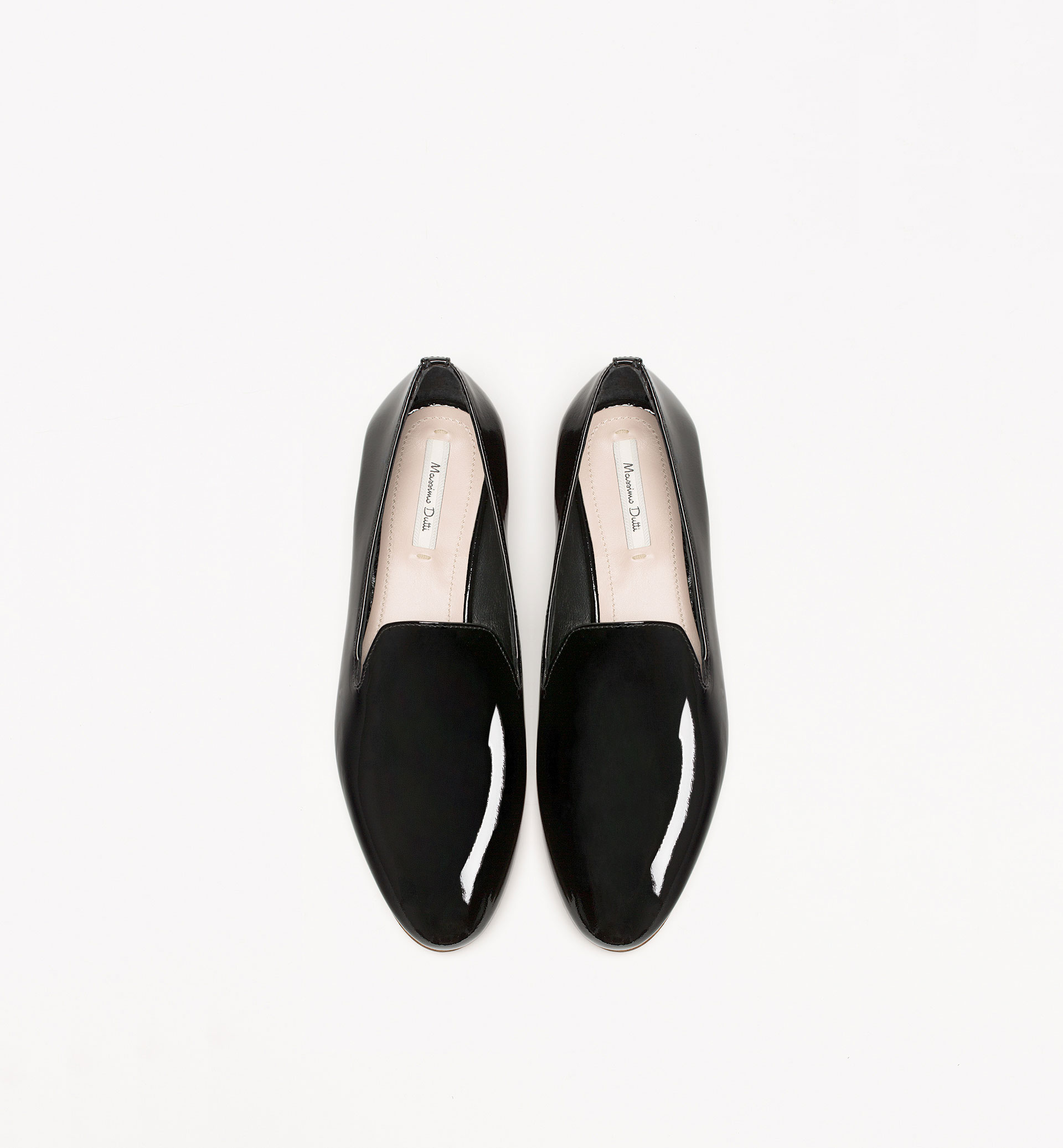 PATENT LEATHER SLIPPER