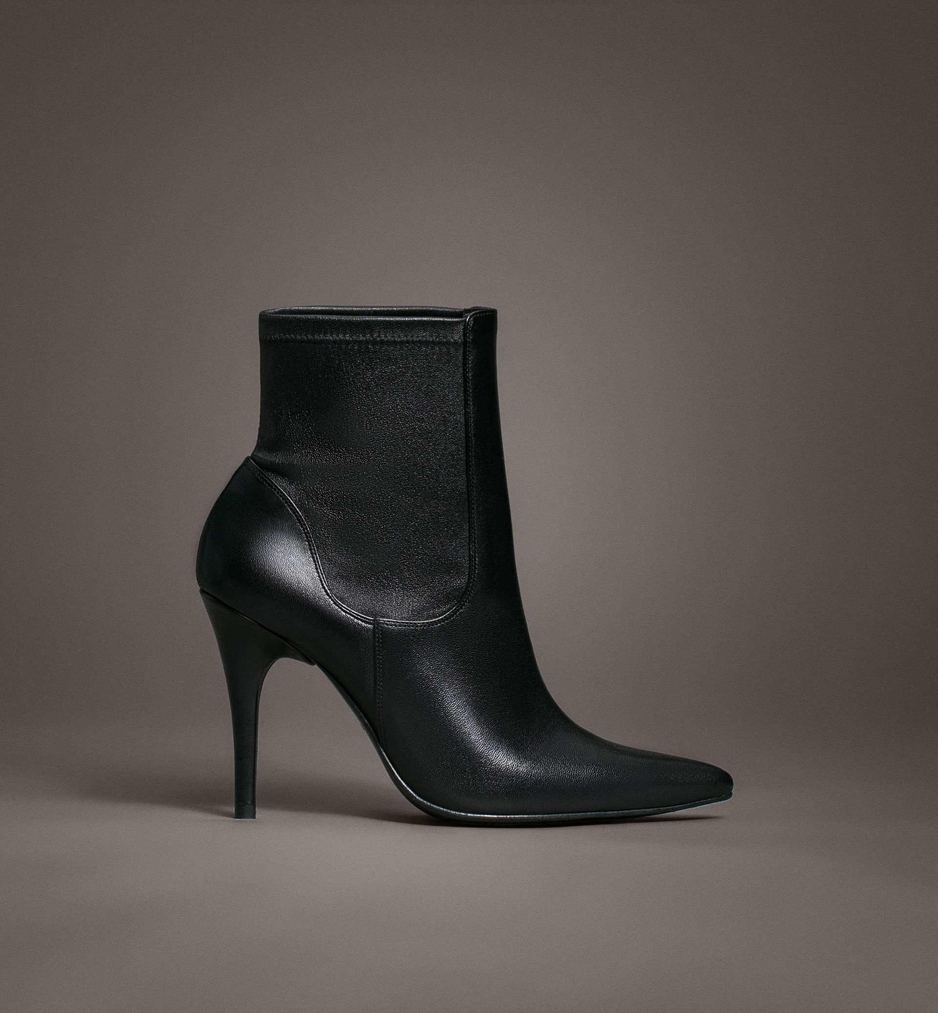 LIMITED EDITION STRETCH ANKLE BOOTS