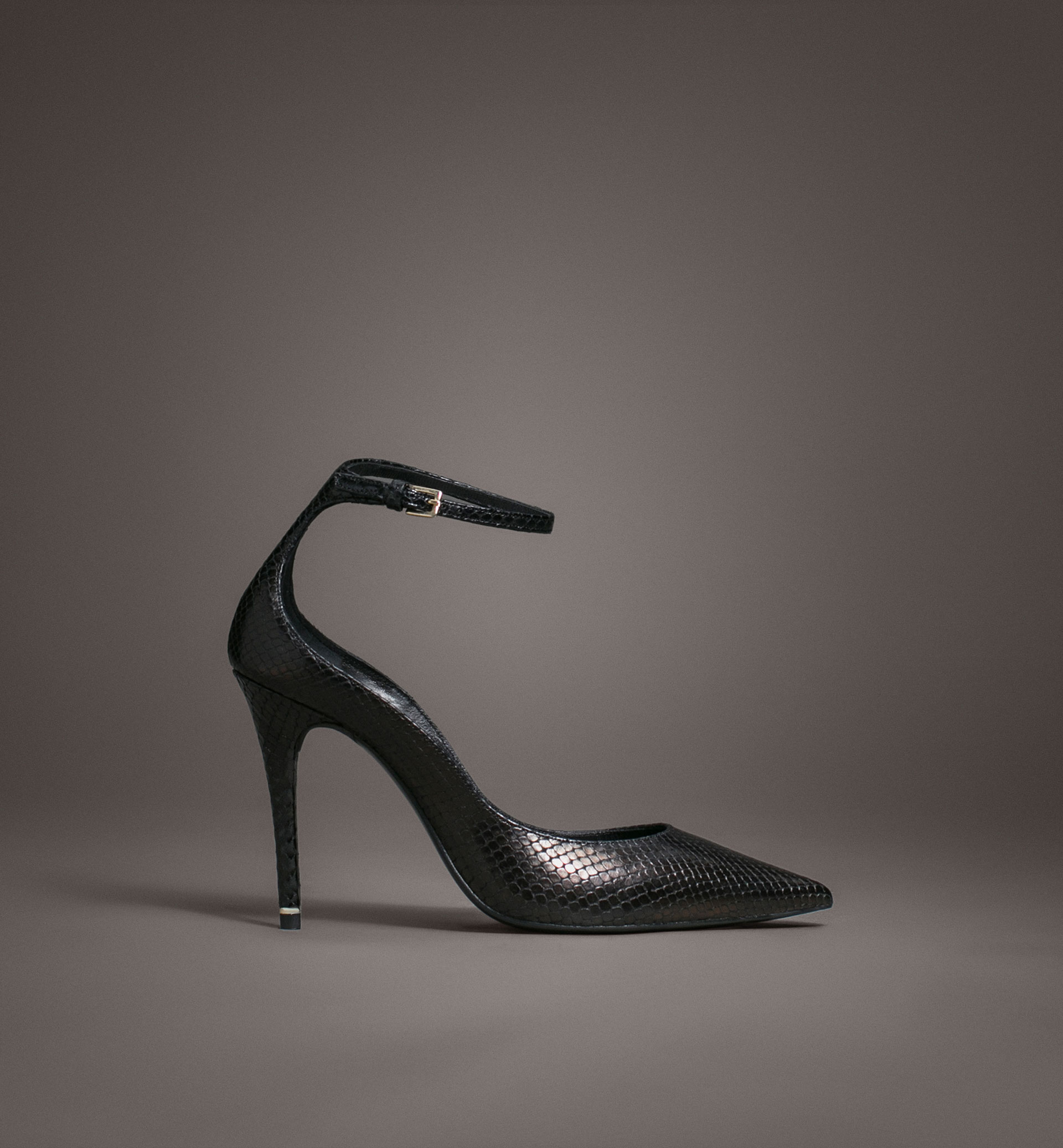 LIMITED EDITION ANKLE STRAP HIGH HEEL SHOES