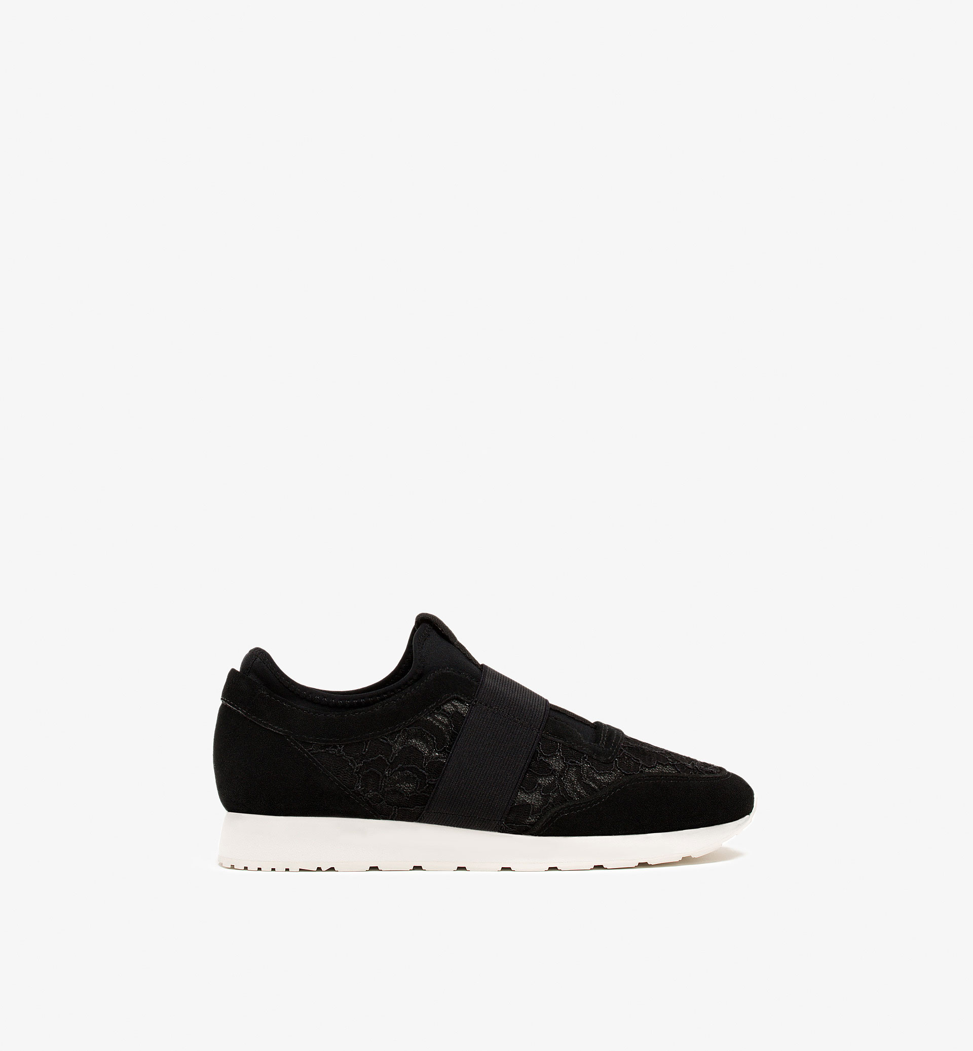 GUIPURE LACE SNEAKERS