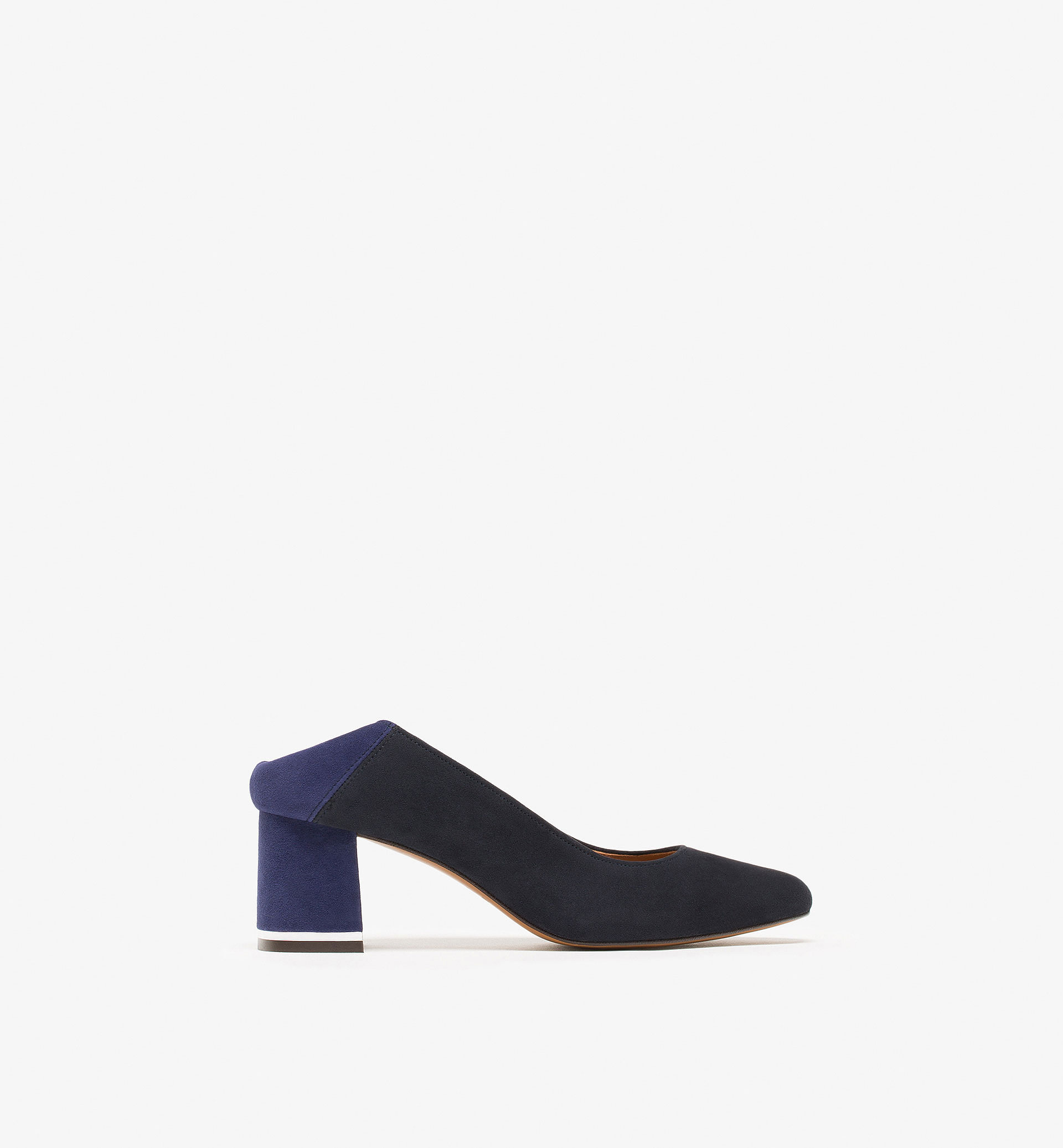 BLUE SUEDE HIGH HEEL BABOUCHES LIMITED EDITION
