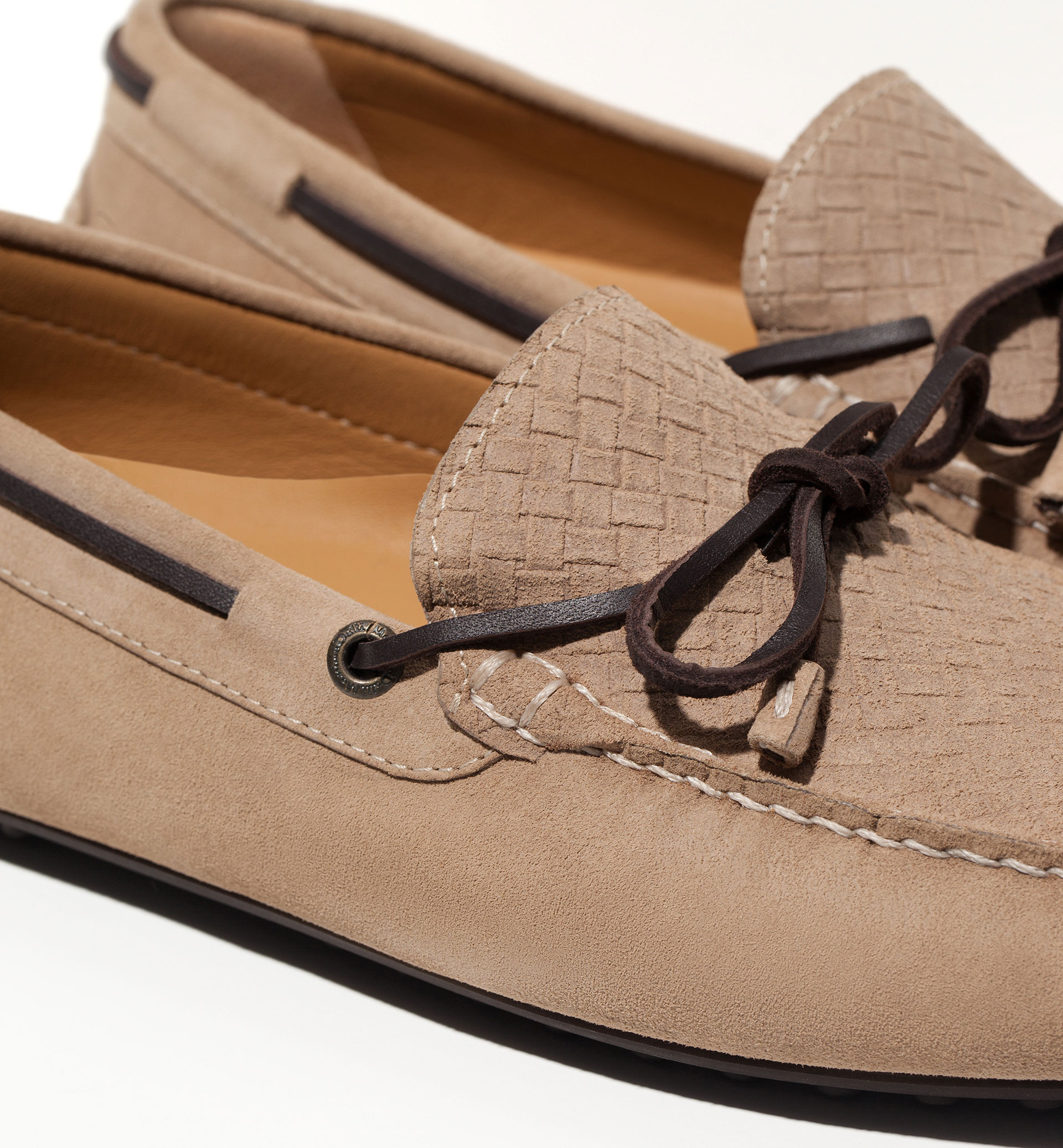 BRAIDED EMBOSSED LOAFERS