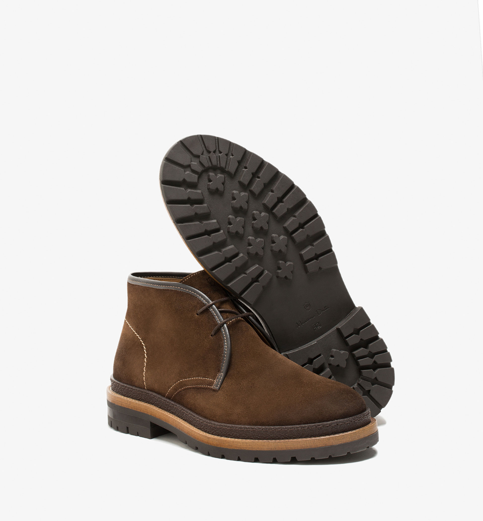 LEATHER SAFARI BOOTS