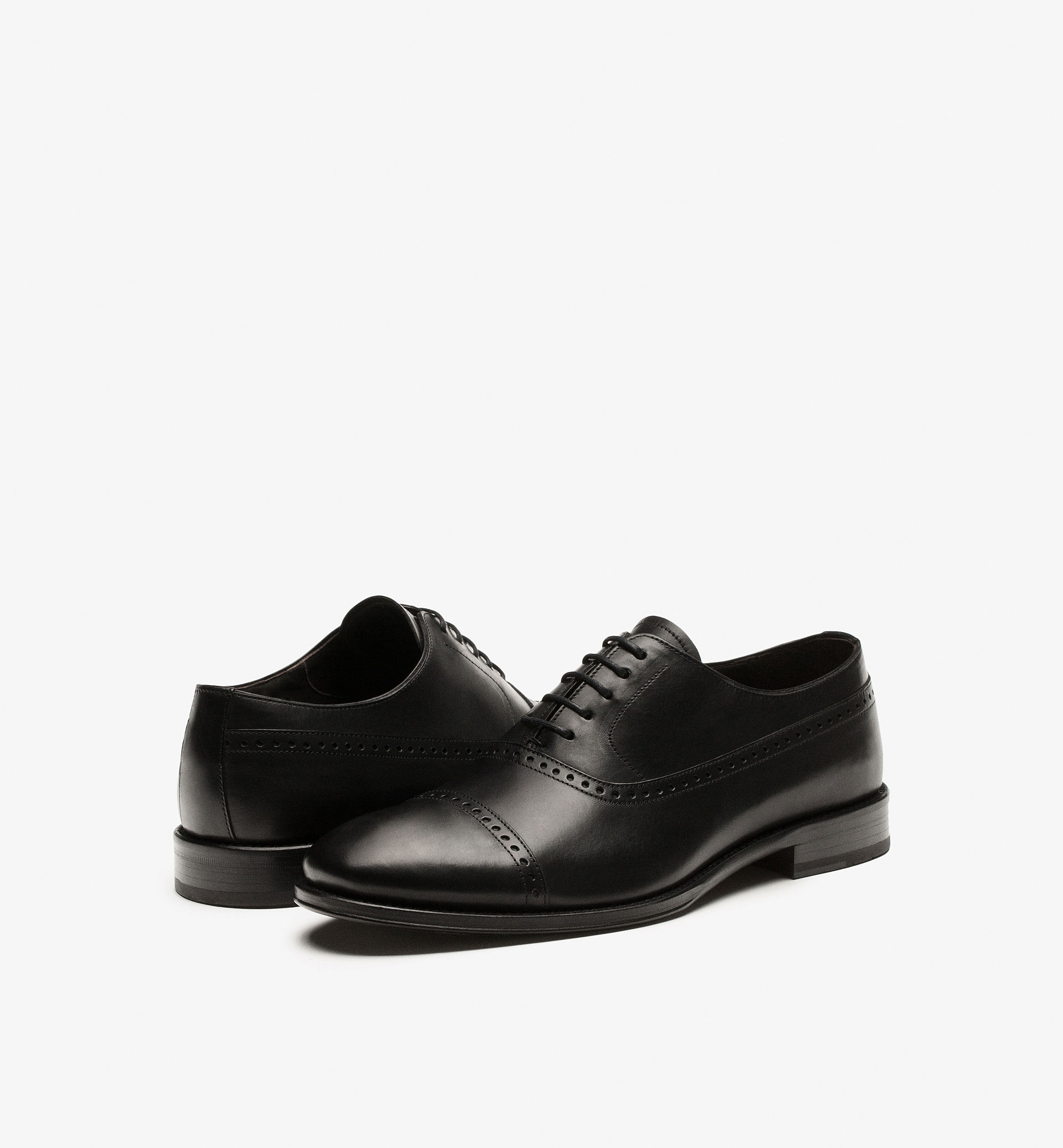 SMART BLACK OXFORD SHOES