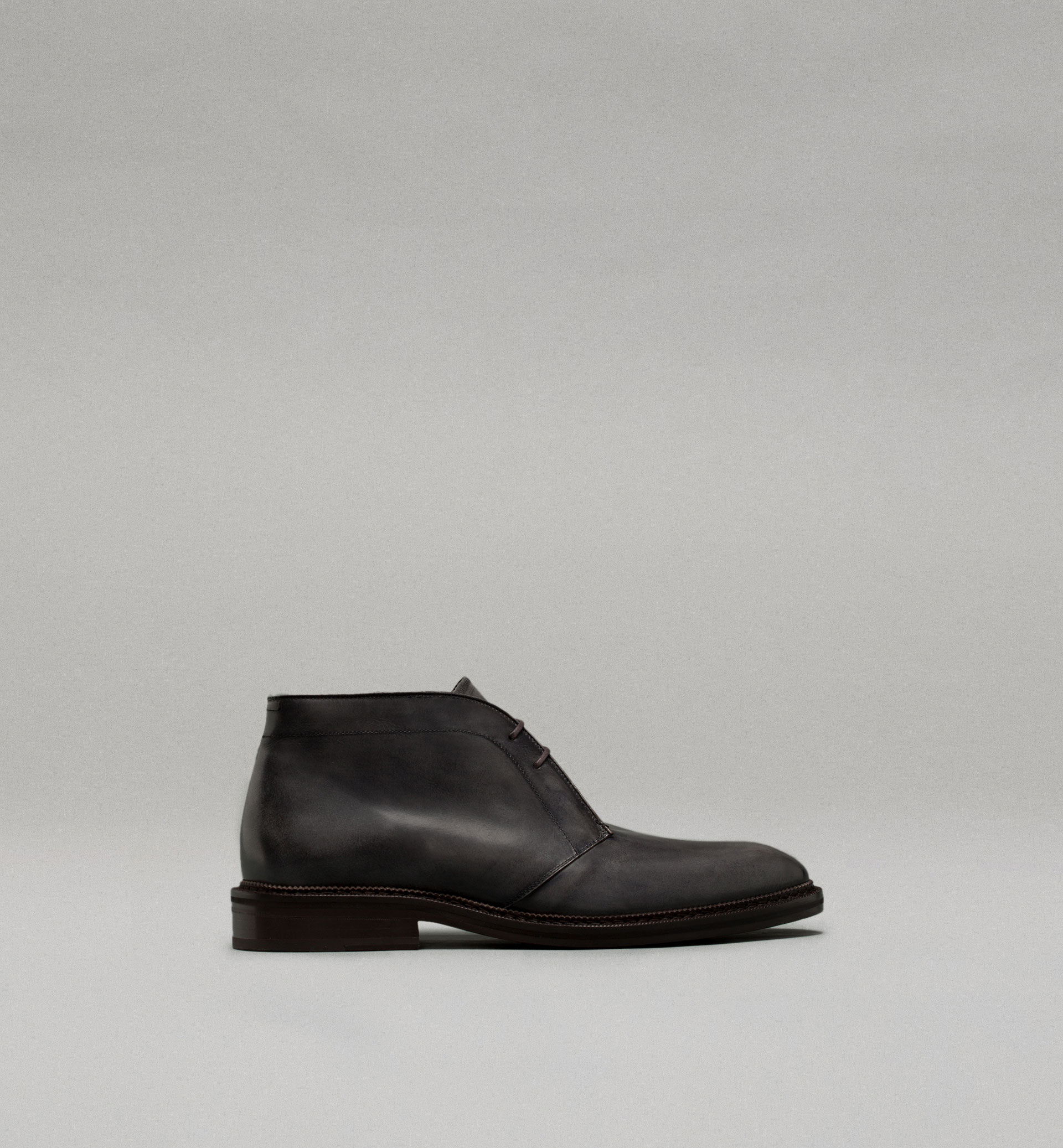 PERSONAL TAILORING NAPPA LEATHER ANKLE BOOTS