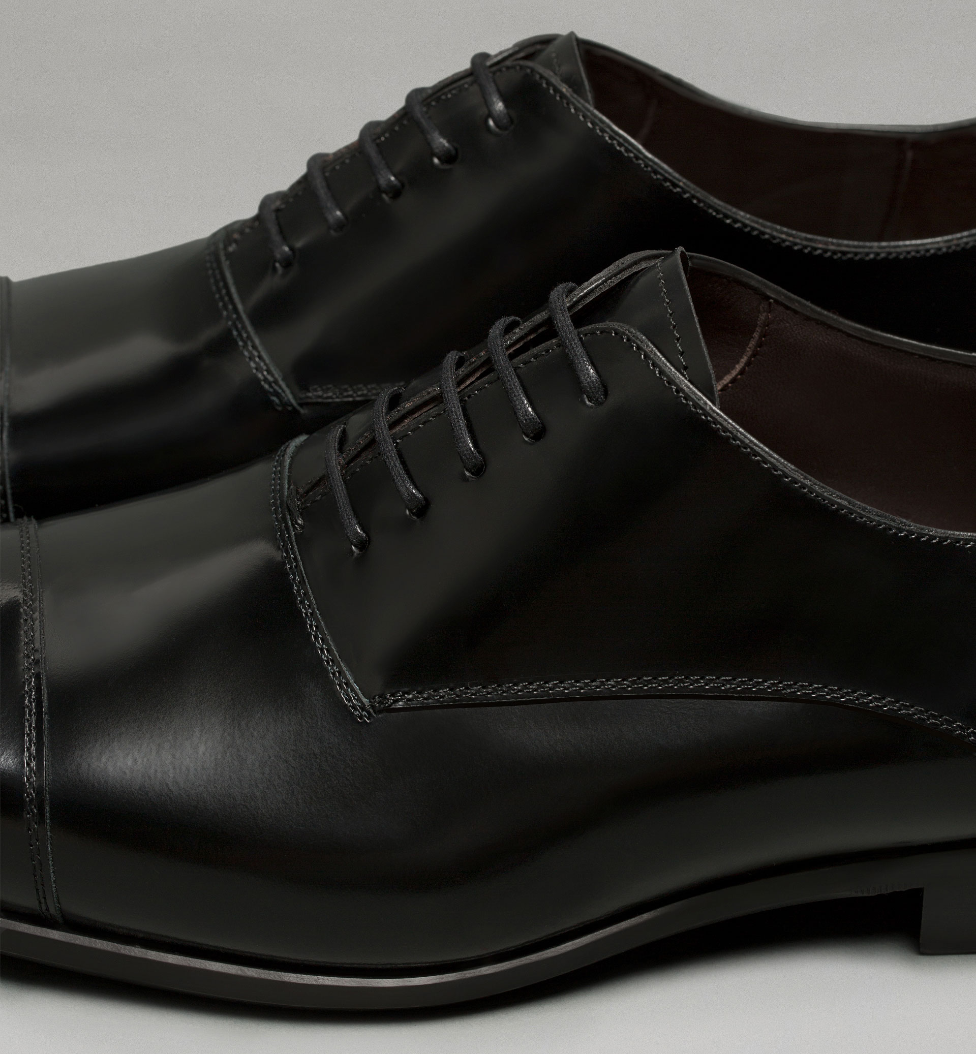 PERSONAL TAILORING LEATHER OXFORD SHOES