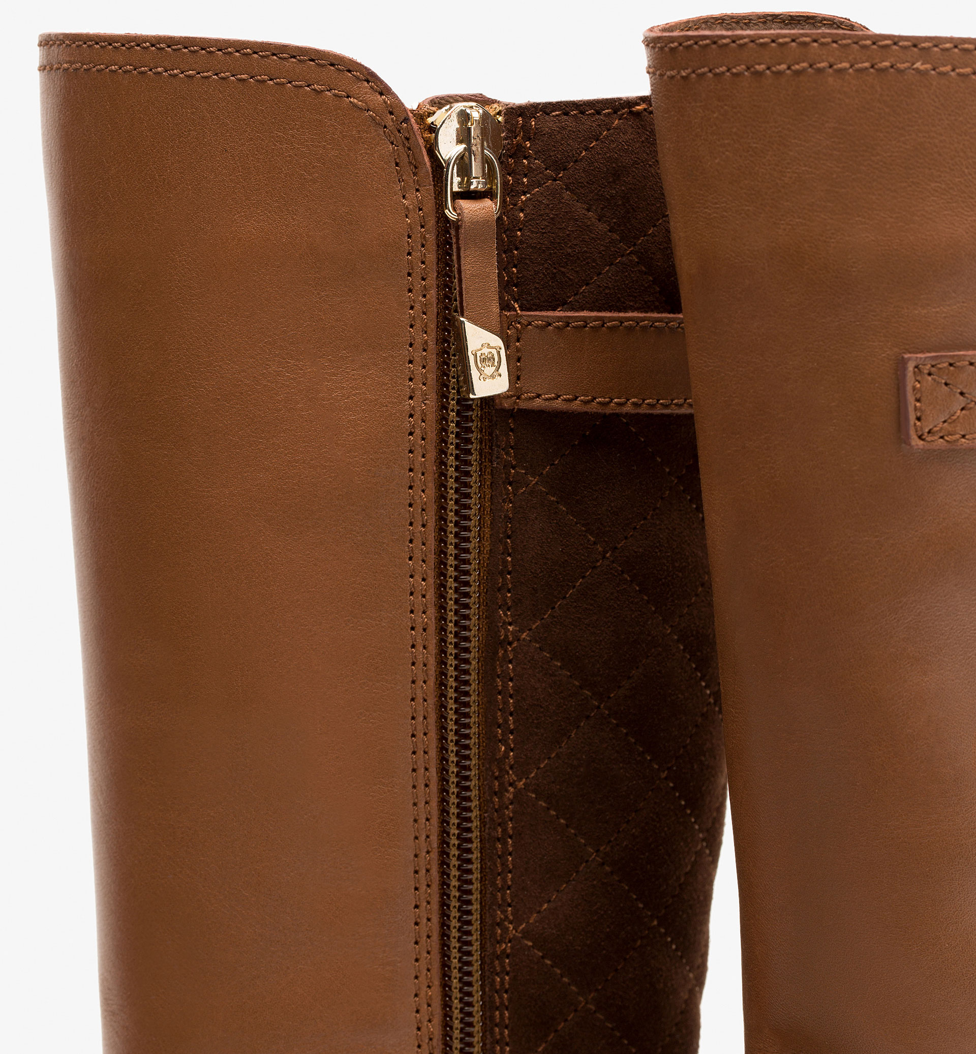 QUILTED LEATHER BOOTS