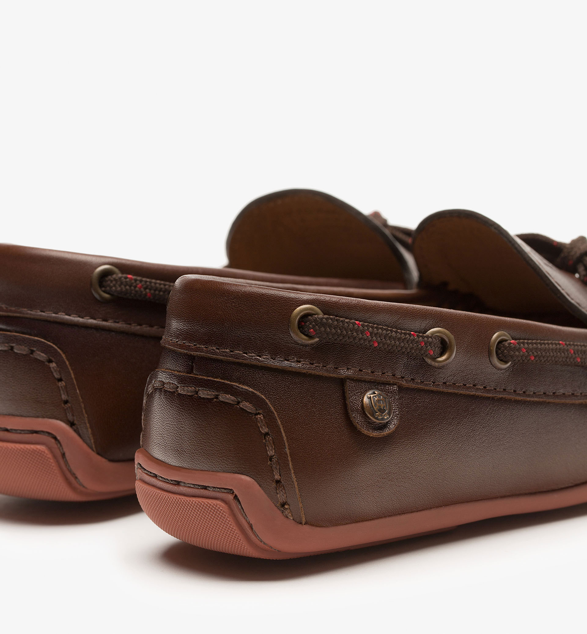 BROWN NAPPA LOAFERS